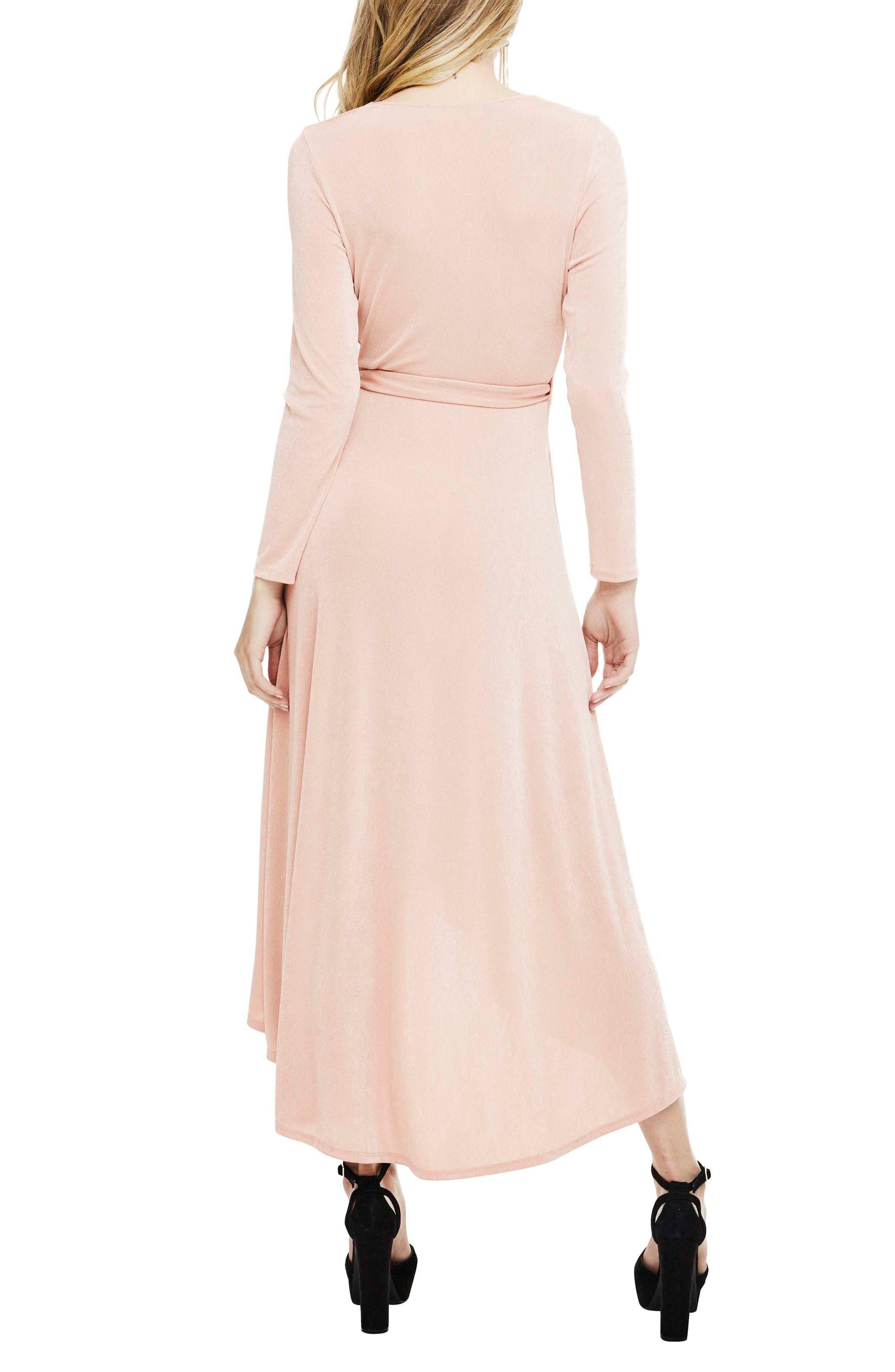 Melonie Wrap Dress,                             Alternate thumbnail 4, color,