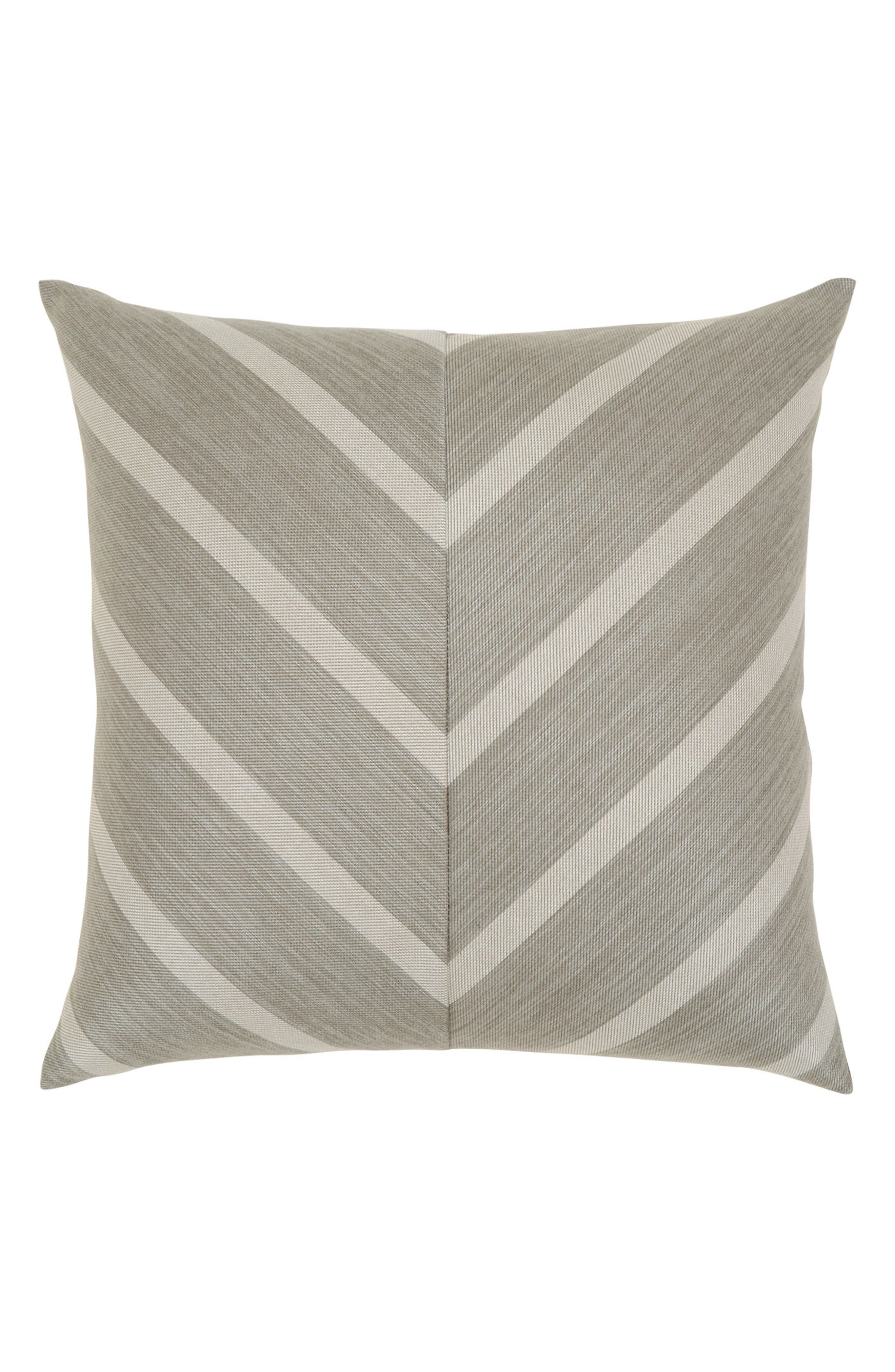 Sparkle Chevron Indoor/Outdoor Accent Pillow,                             Main thumbnail 1, color,                             GREY