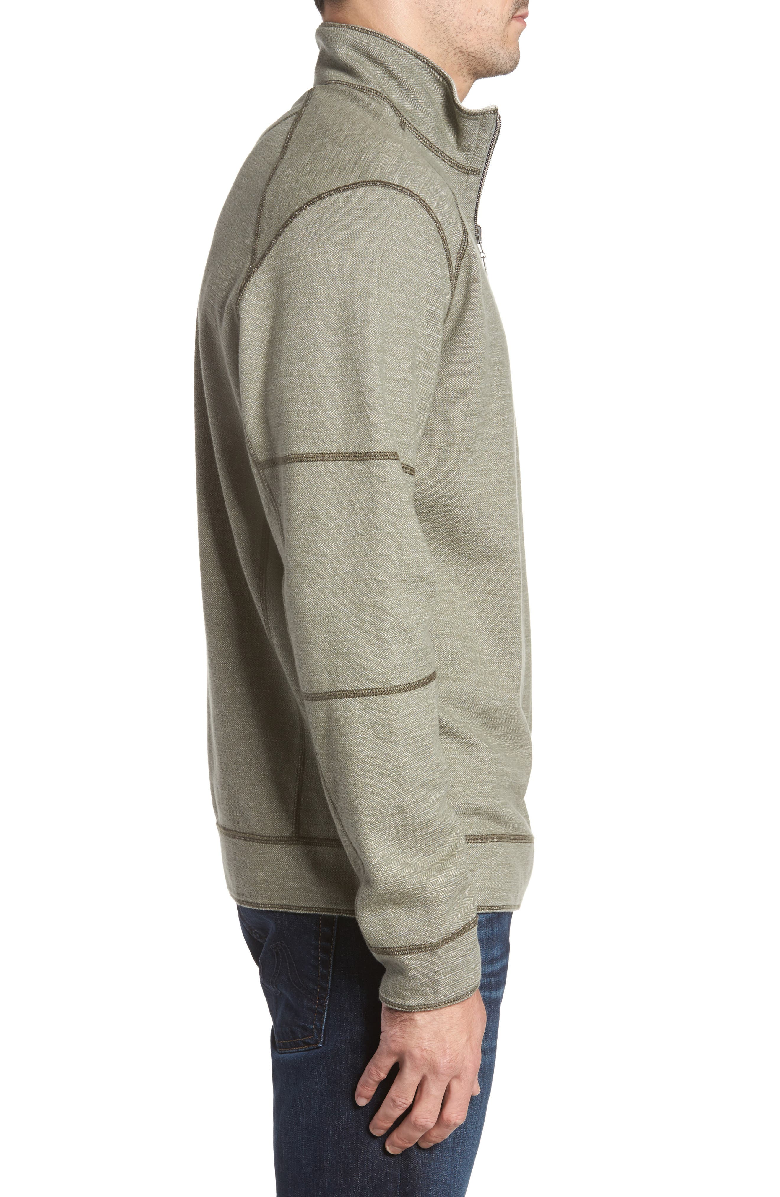 Sandbar Slub Reversible Quarter Zip Pullover,                             Alternate thumbnail 12, color,