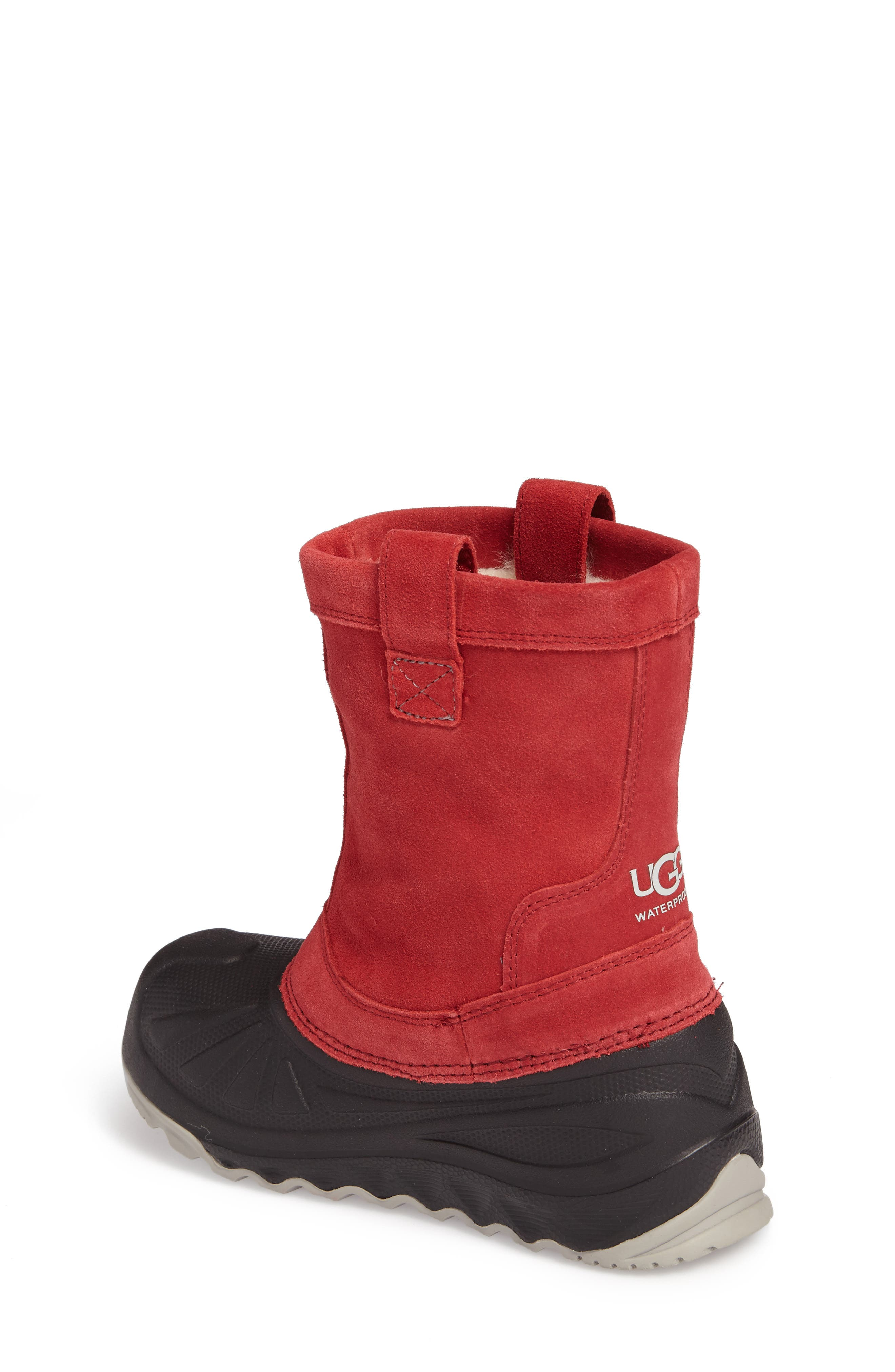 Evertt Waterproof Thinsulate<sup>™</sup> Insulated Snow Boot,                             Alternate thumbnail 4, color,