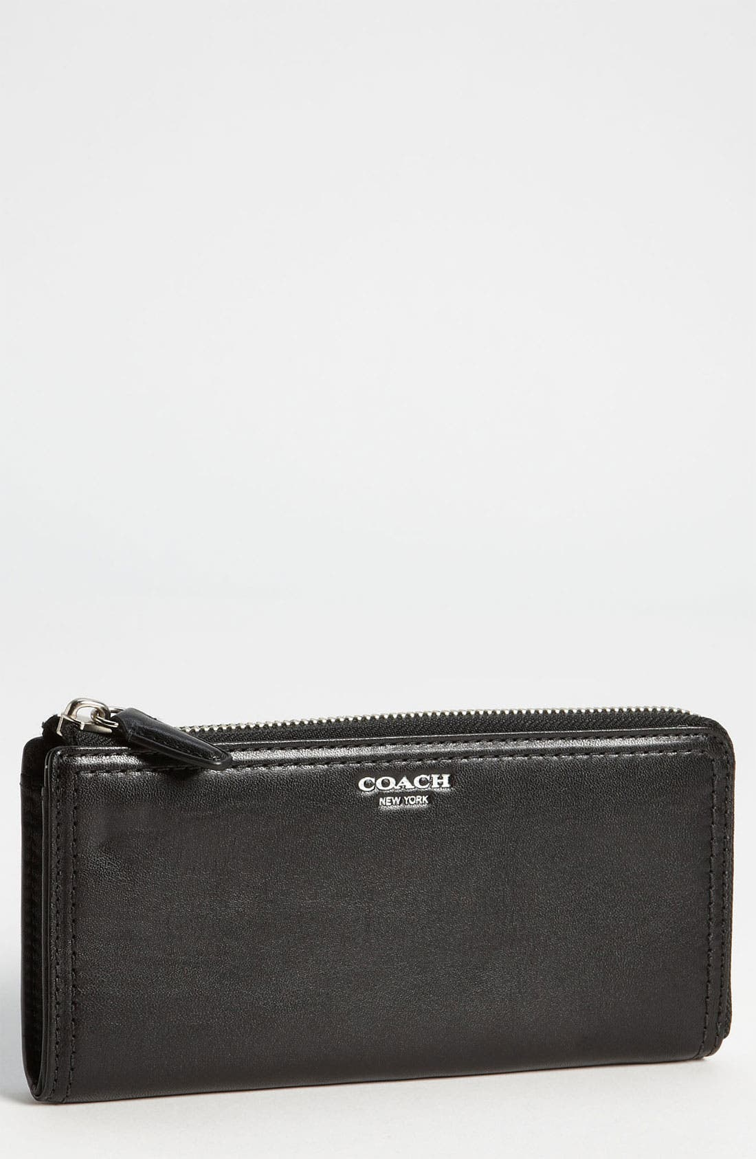 COACH,                             'Legacy' Leather Wallet,                             Main thumbnail 1, color,                             001