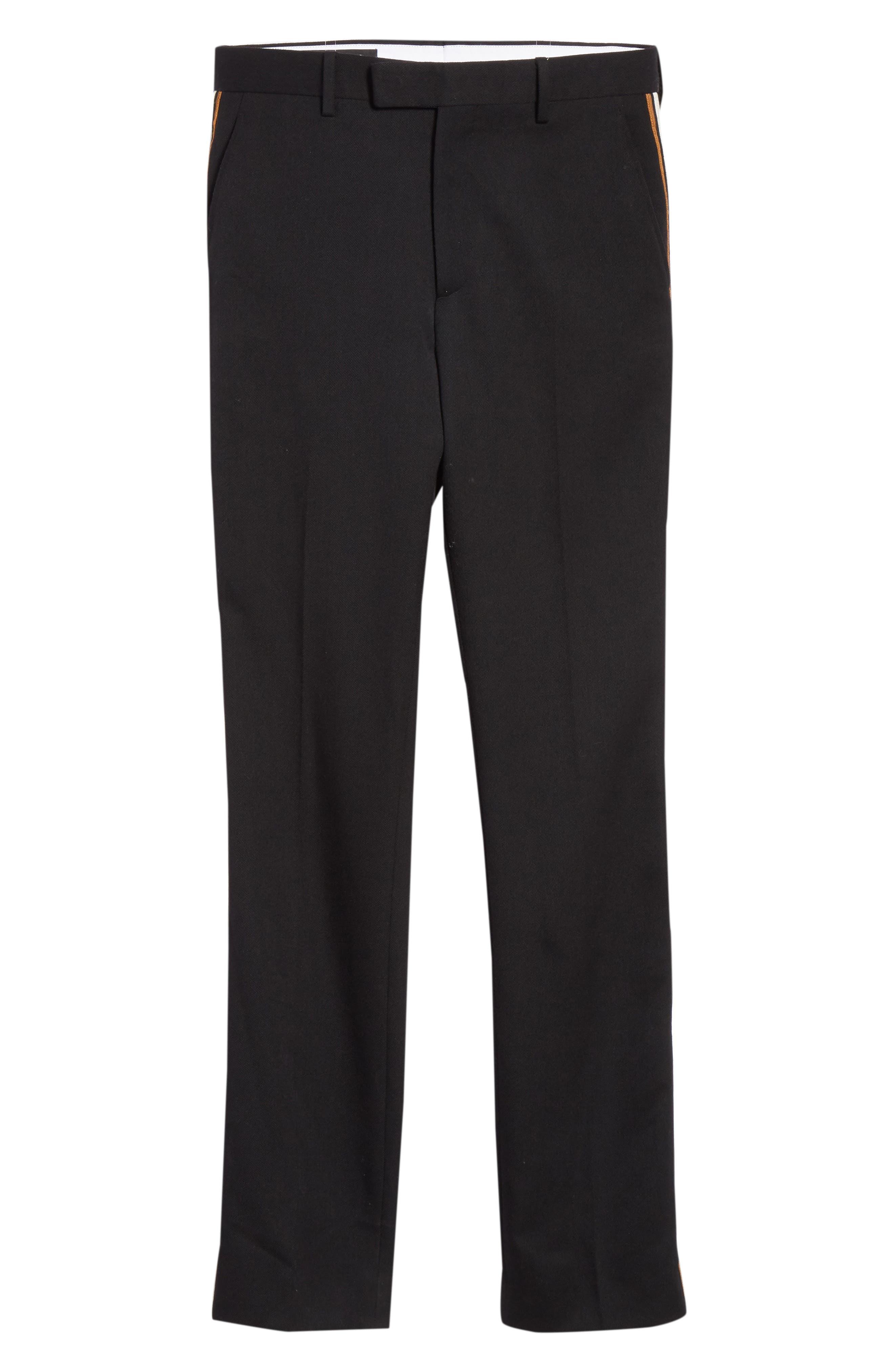 CALVIN KLEIN 205W39NYC,                             Uniform Stripe Trousers,                             Alternate thumbnail 6, color,                             060