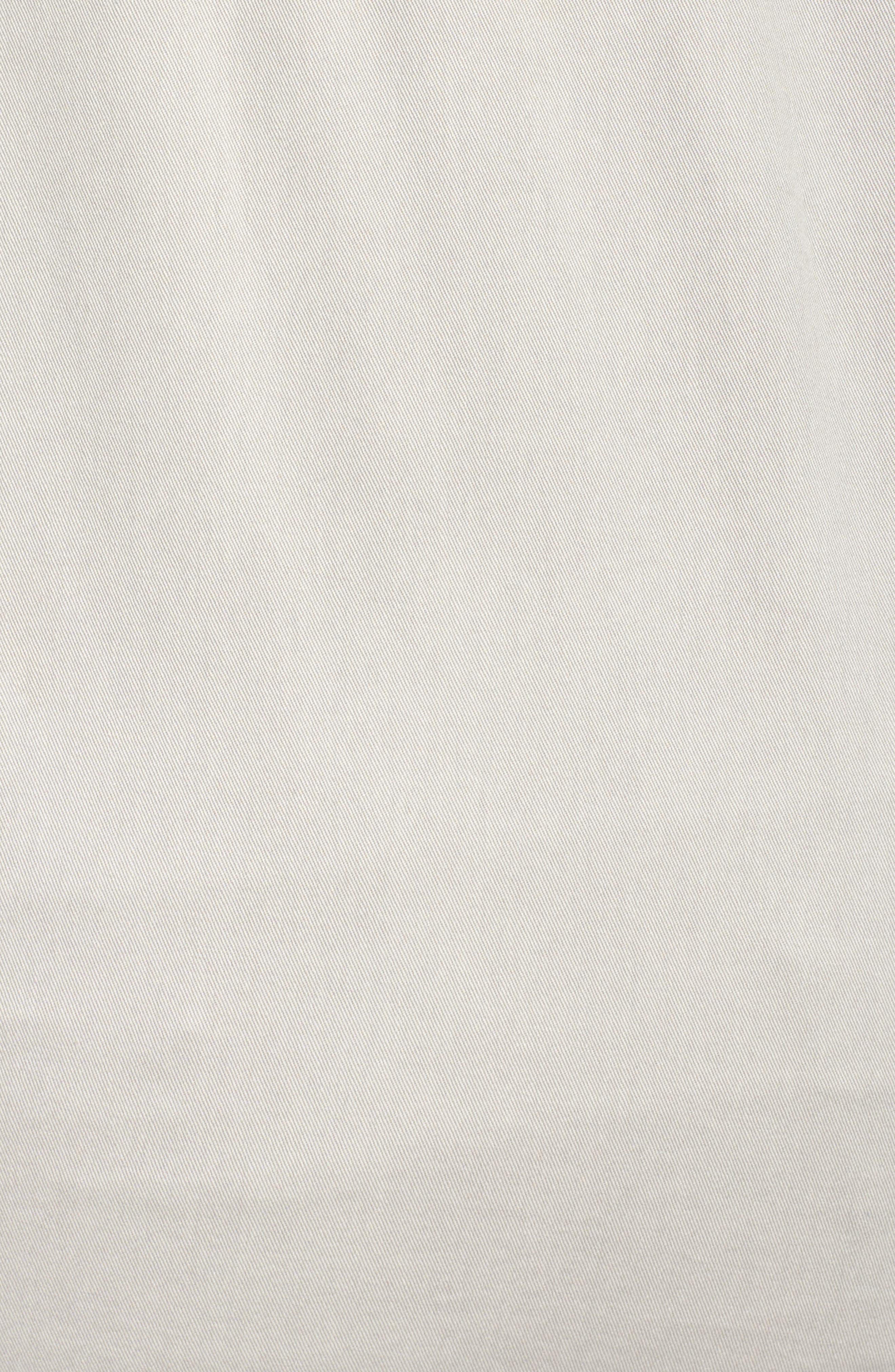 Oversize Cotton Canvas Trucker Jacket,                             Alternate thumbnail 6, color,                             030
