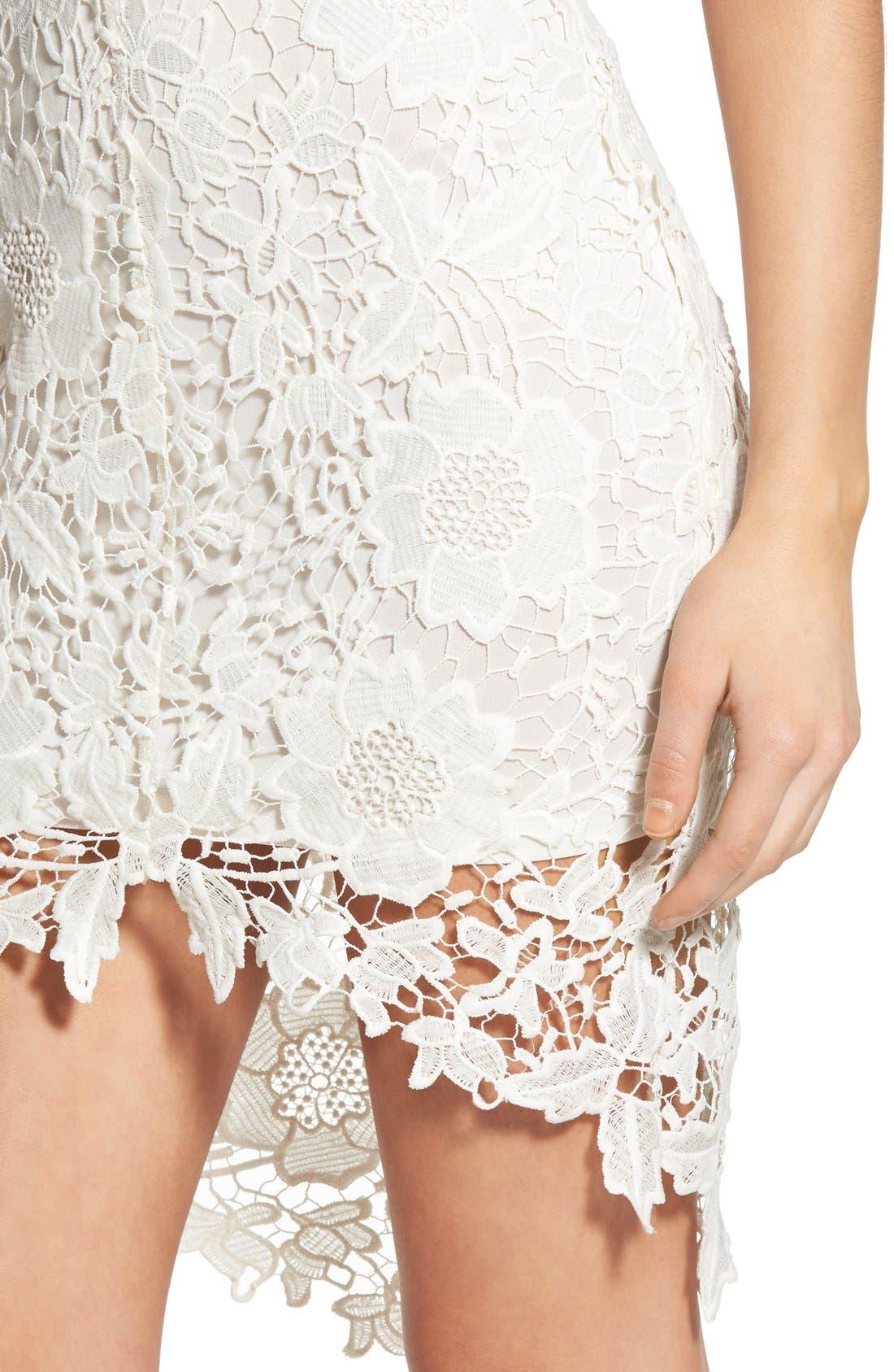 'Samantha' Lace Dress,                             Alternate thumbnail 17, color,
