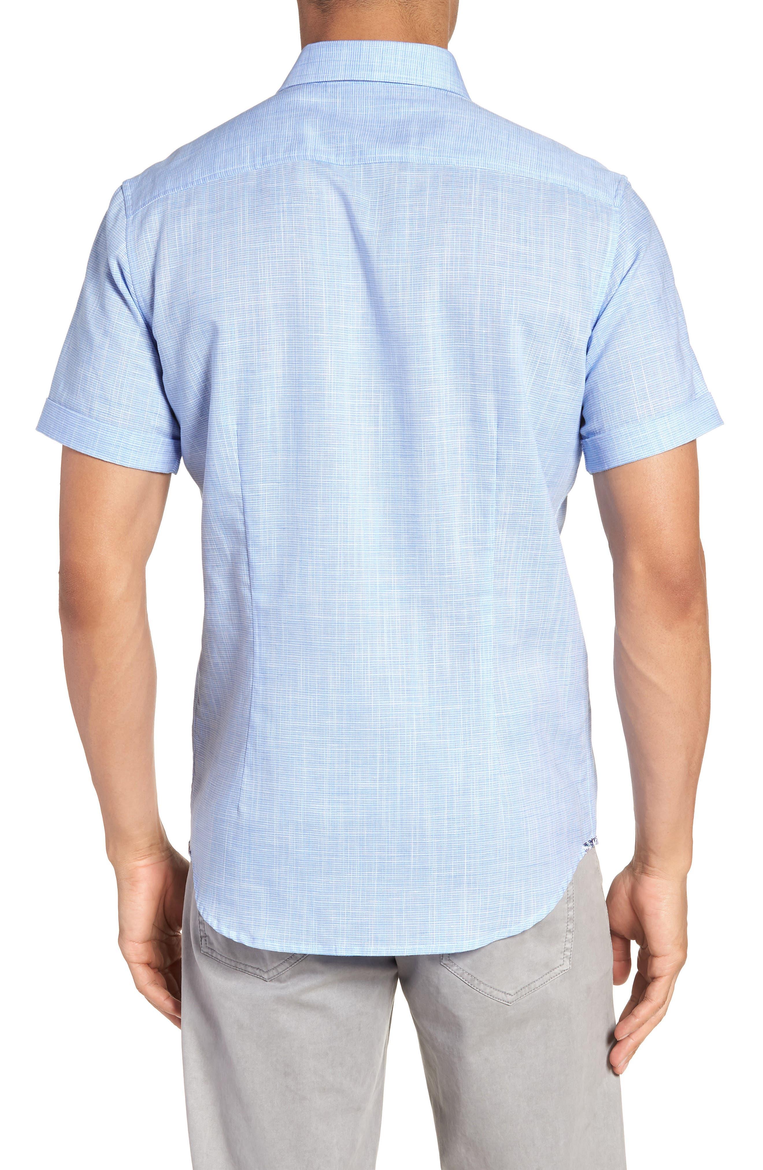 ROBERT GRAHAM,                             Isia Tailored Fit Sport Shirt,                             Alternate thumbnail 2, color,                             400