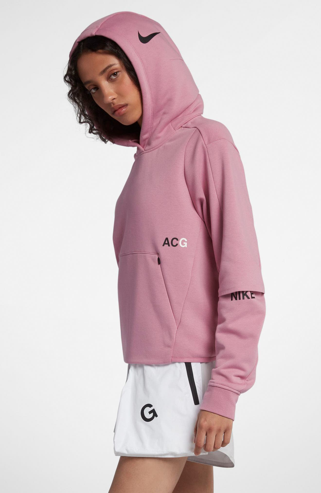 NikeLab ACG Women's Pullover Hoodie,                             Alternate thumbnail 21, color,