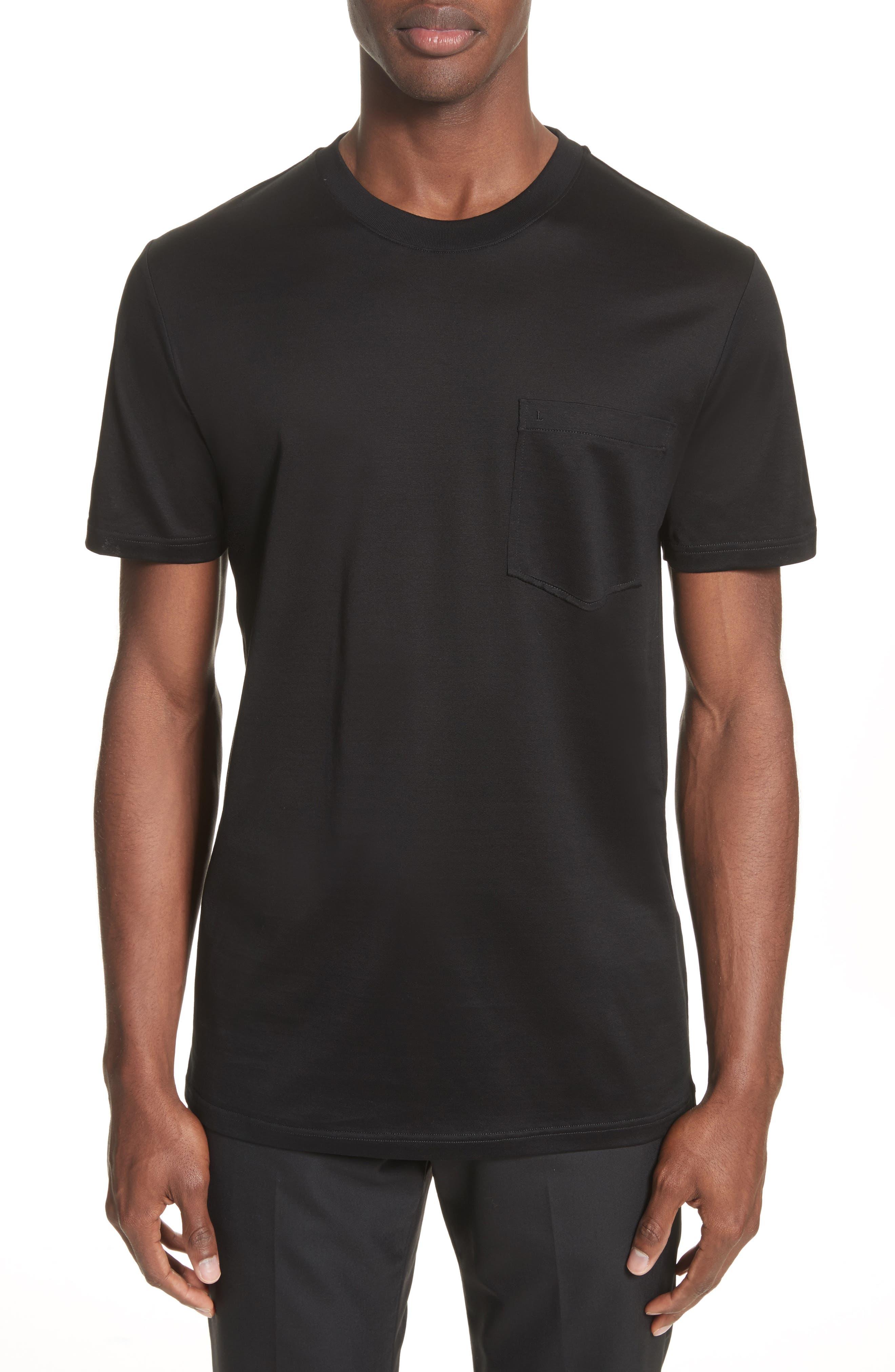 L Pocket T-Shirt,                             Main thumbnail 1, color,                             001