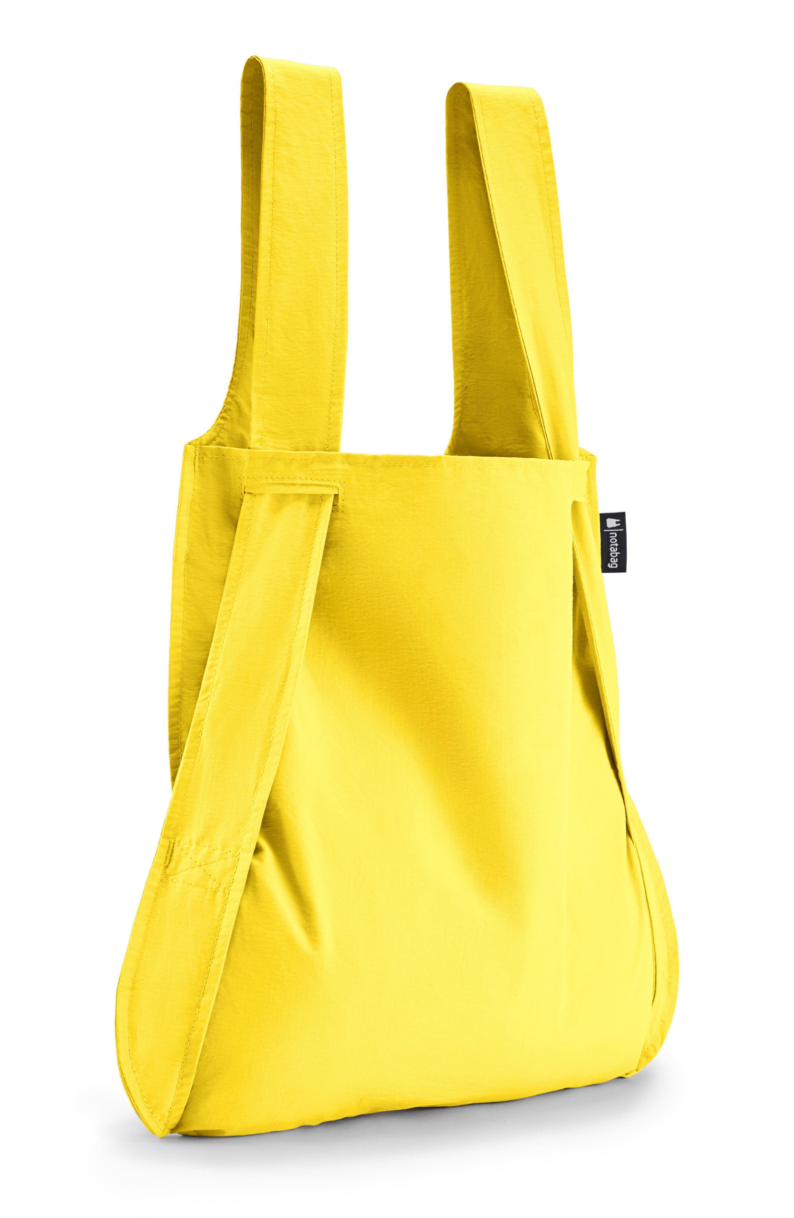 Convertible Tote Backpack,                             Alternate thumbnail 4, color,                             YELLOW