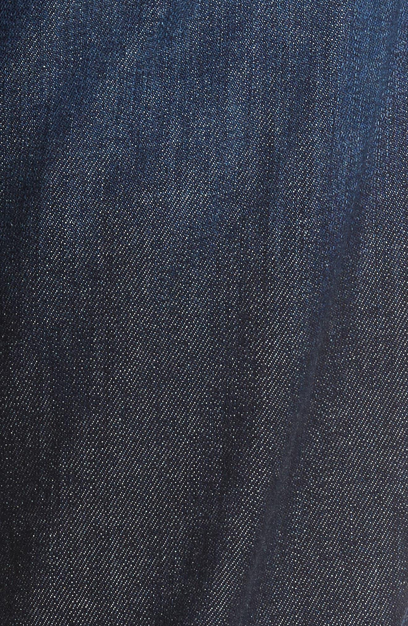 L'Homme Slim Straight Leg Jeans,                             Alternate thumbnail 5, color,                             401