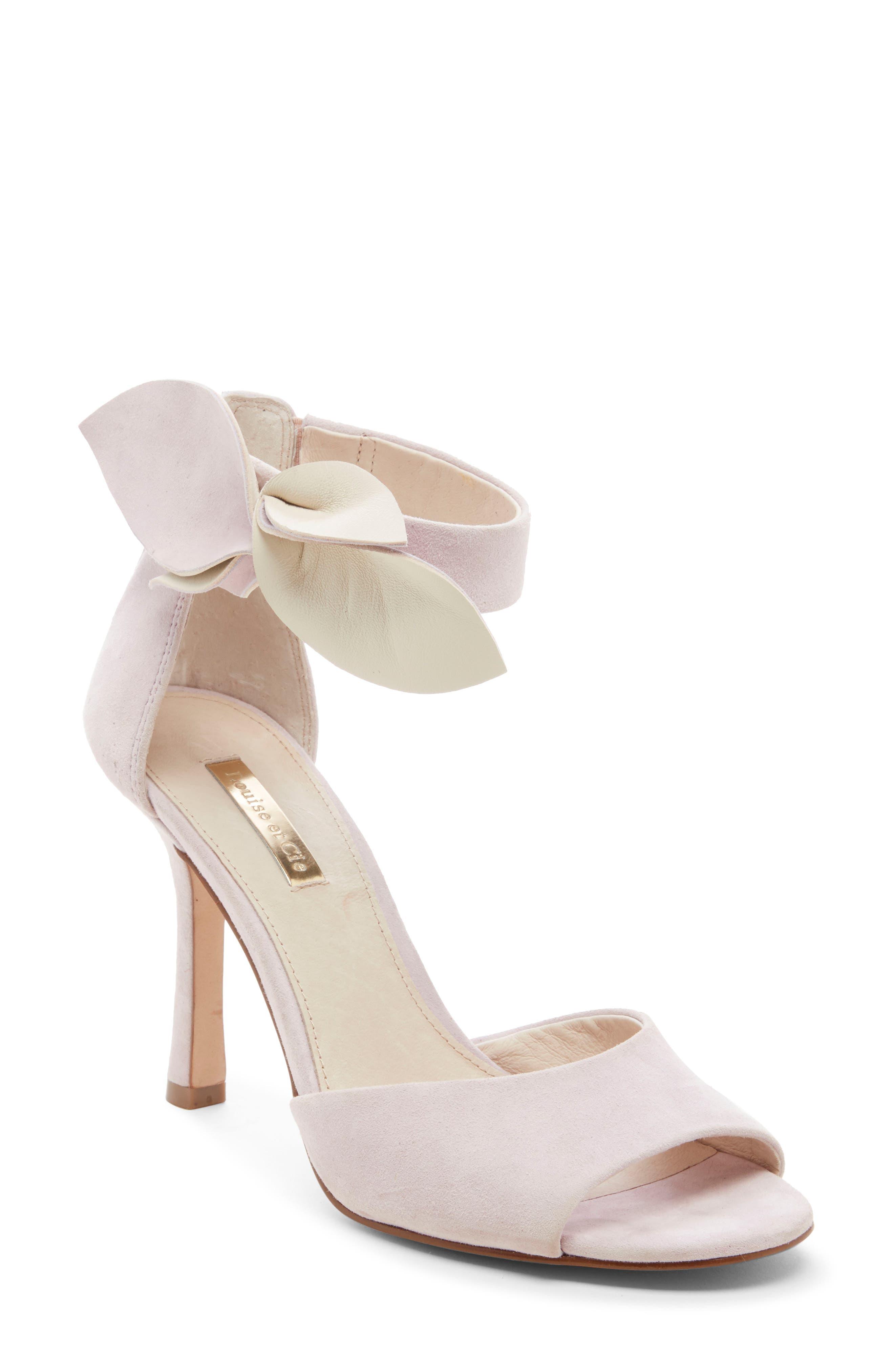 Louise Et Cie Kenbeck Bow Ankle Strap Sandal, Purple