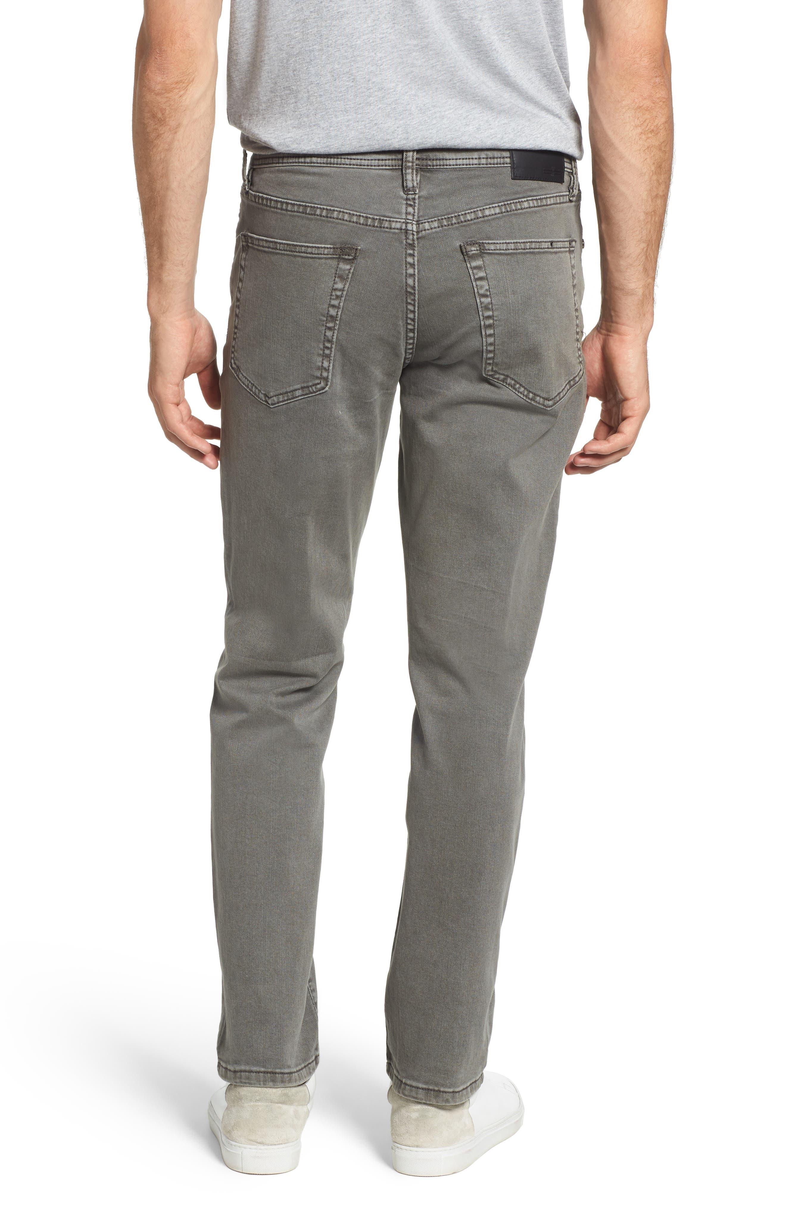 Regent Relaxed Fit Jeans,                             Alternate thumbnail 2, color,                             GUNMETAL