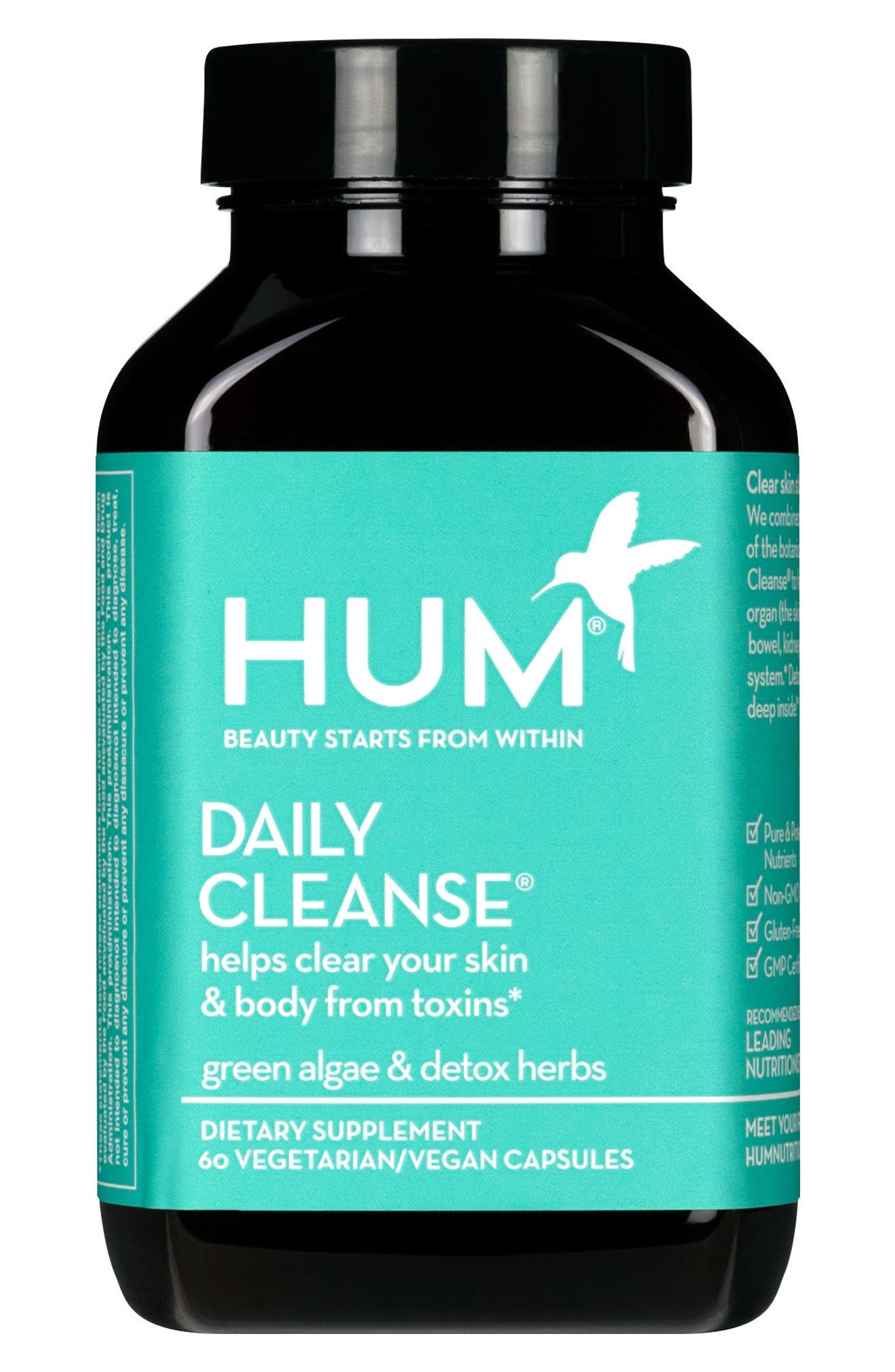 Daily Cleanse<sup>®</sup> Clear Skin and Acne Supplement,                         Main,                         color, NO COLOR