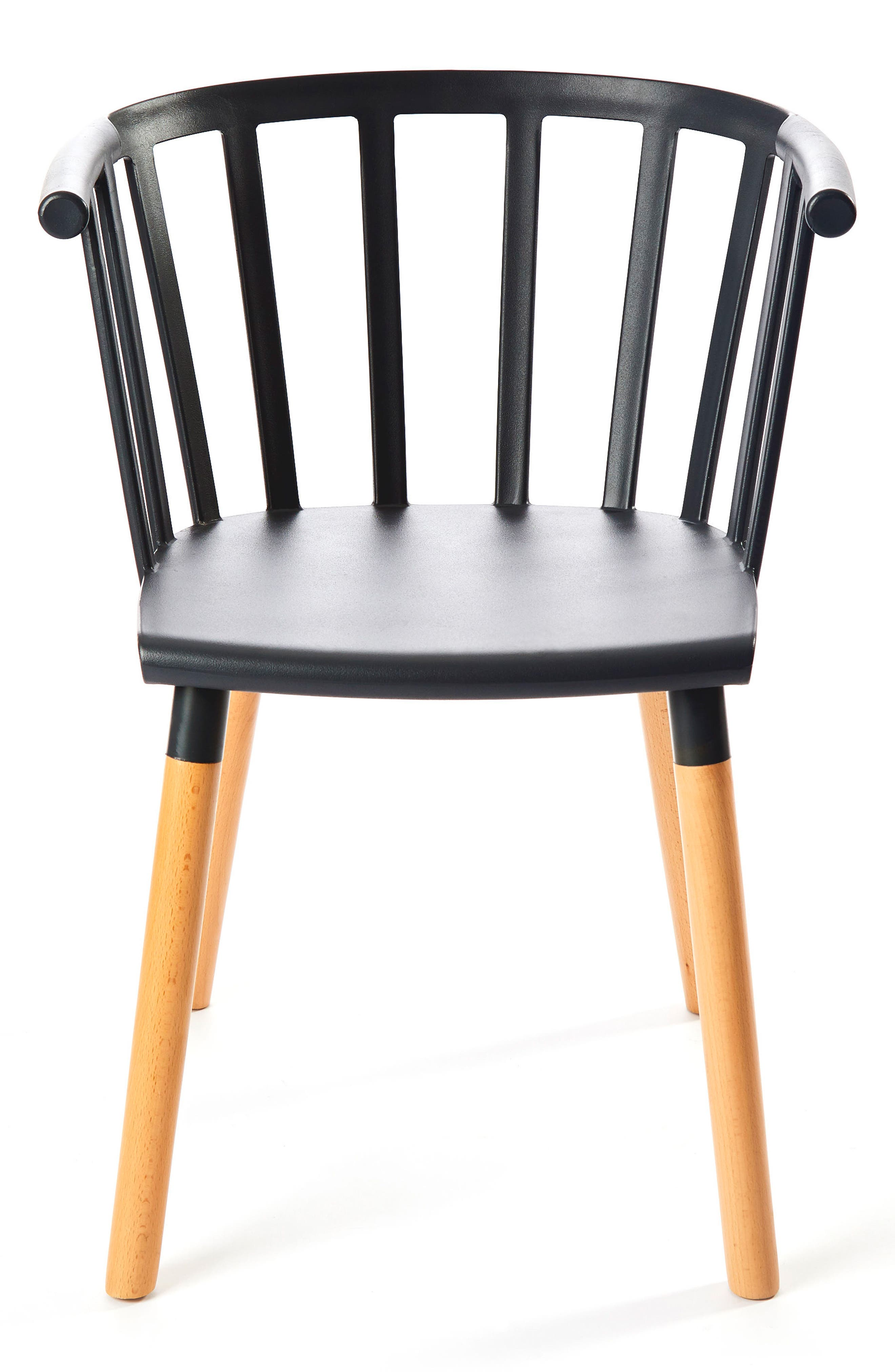 Kaptain Chair,                             Main thumbnail 1, color,                             MYSTERIOUS BLACK