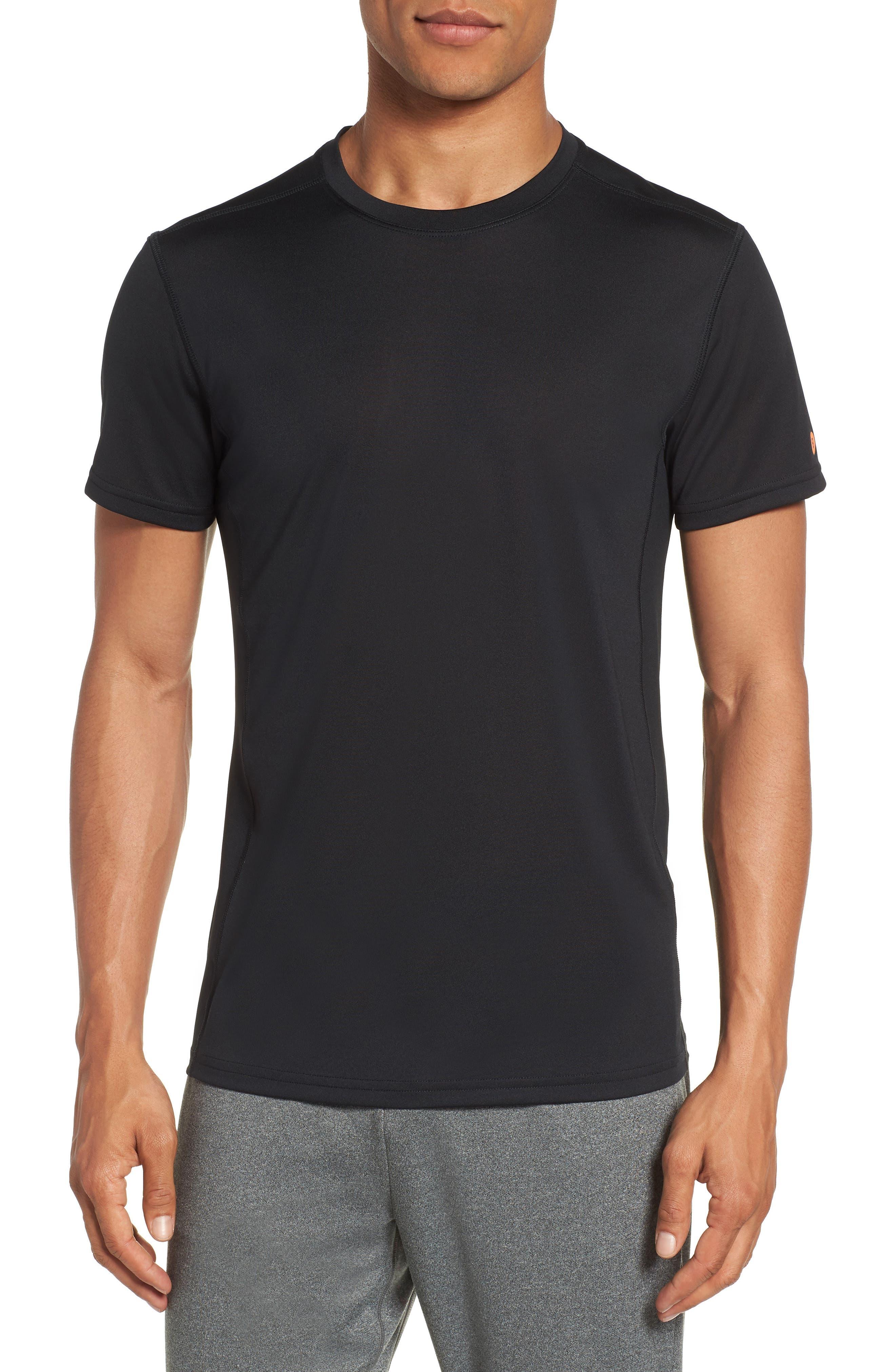 Goodsport Mesh Panel T-Shirt,                             Main thumbnail 1, color,                             001