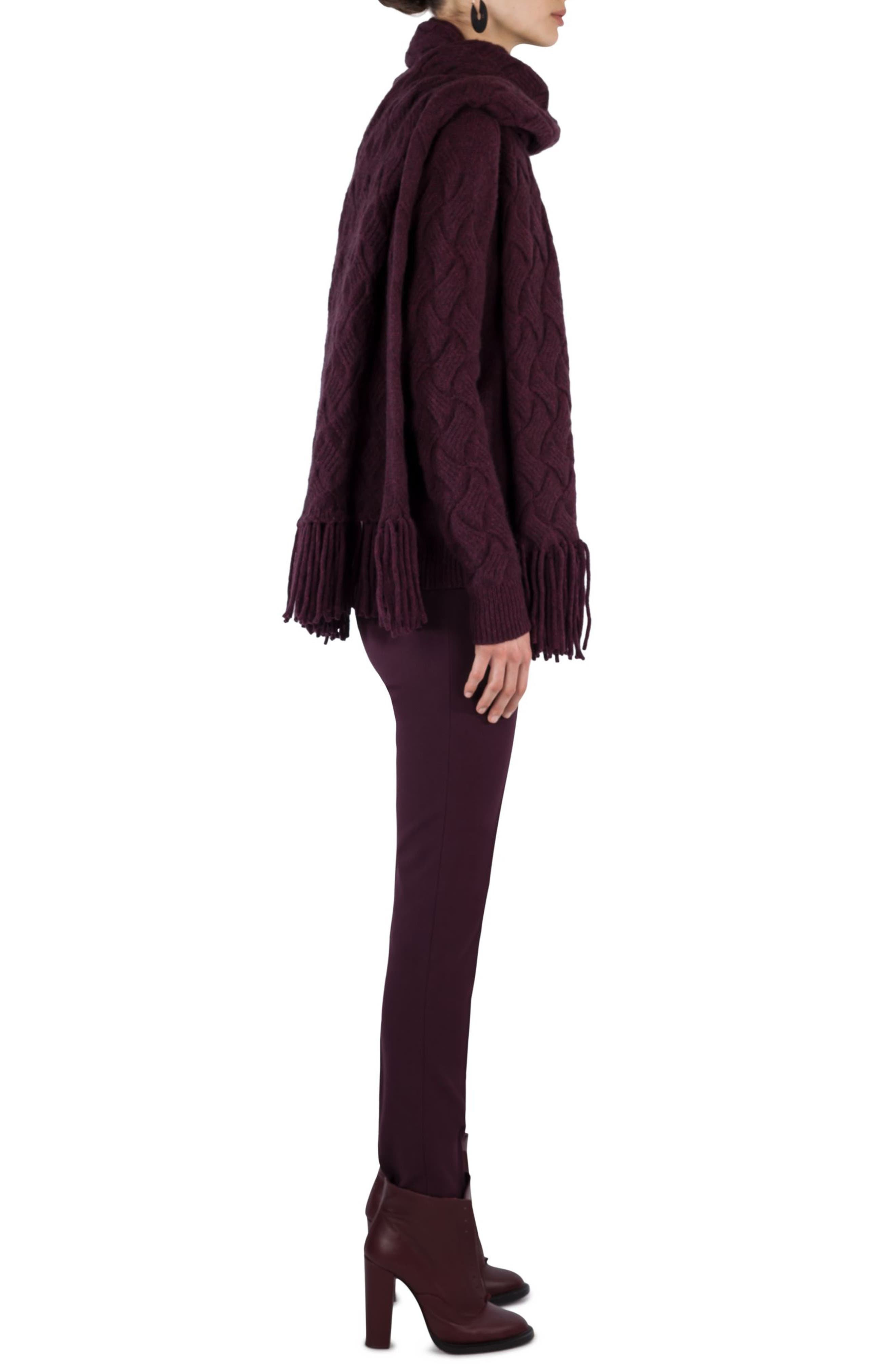 Wool Blend Shawl,                             Alternate thumbnail 2, color,