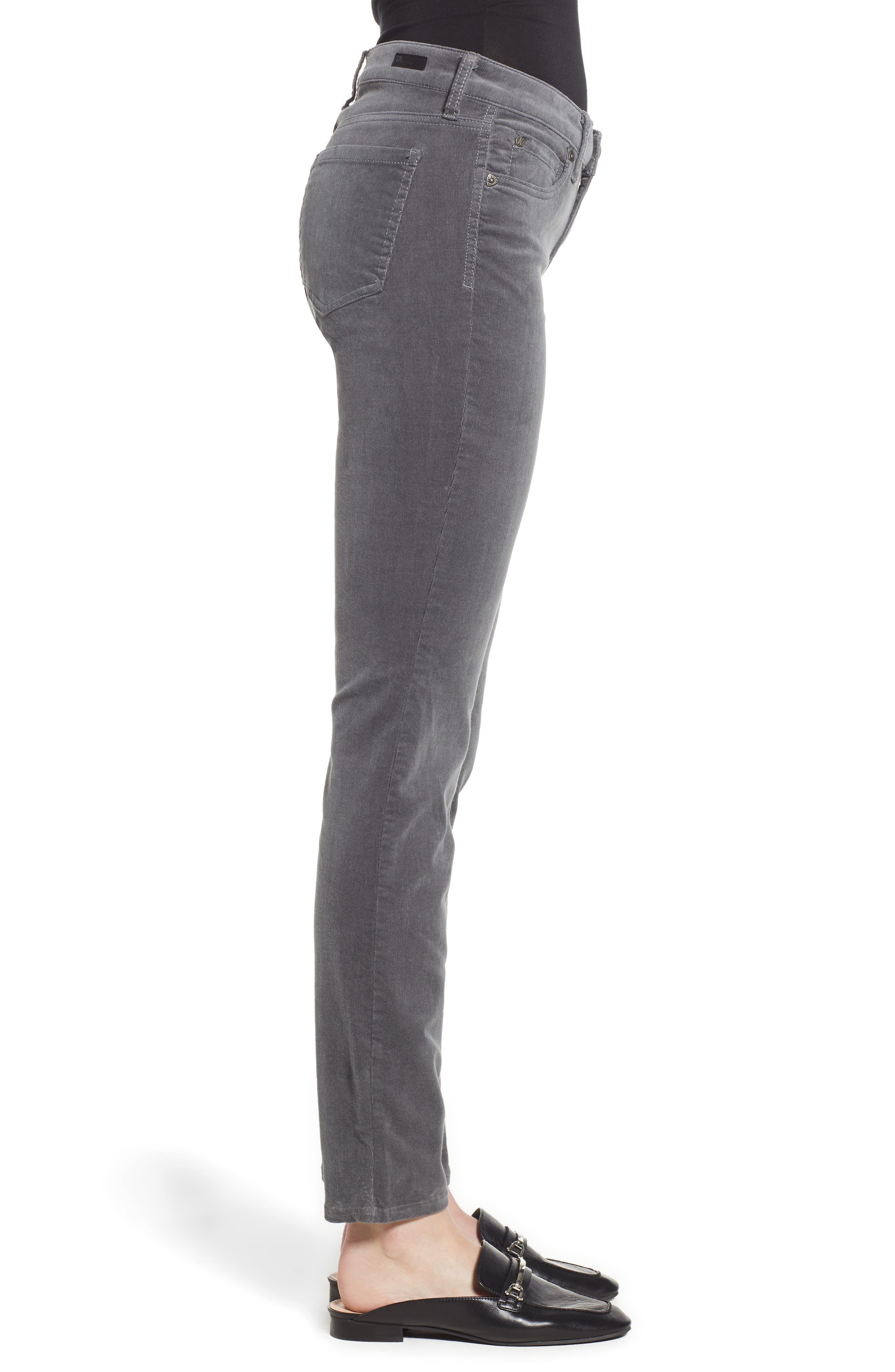 'Diana' Stretch Corduroy Skinny Pants,                             Alternate thumbnail 108, color,