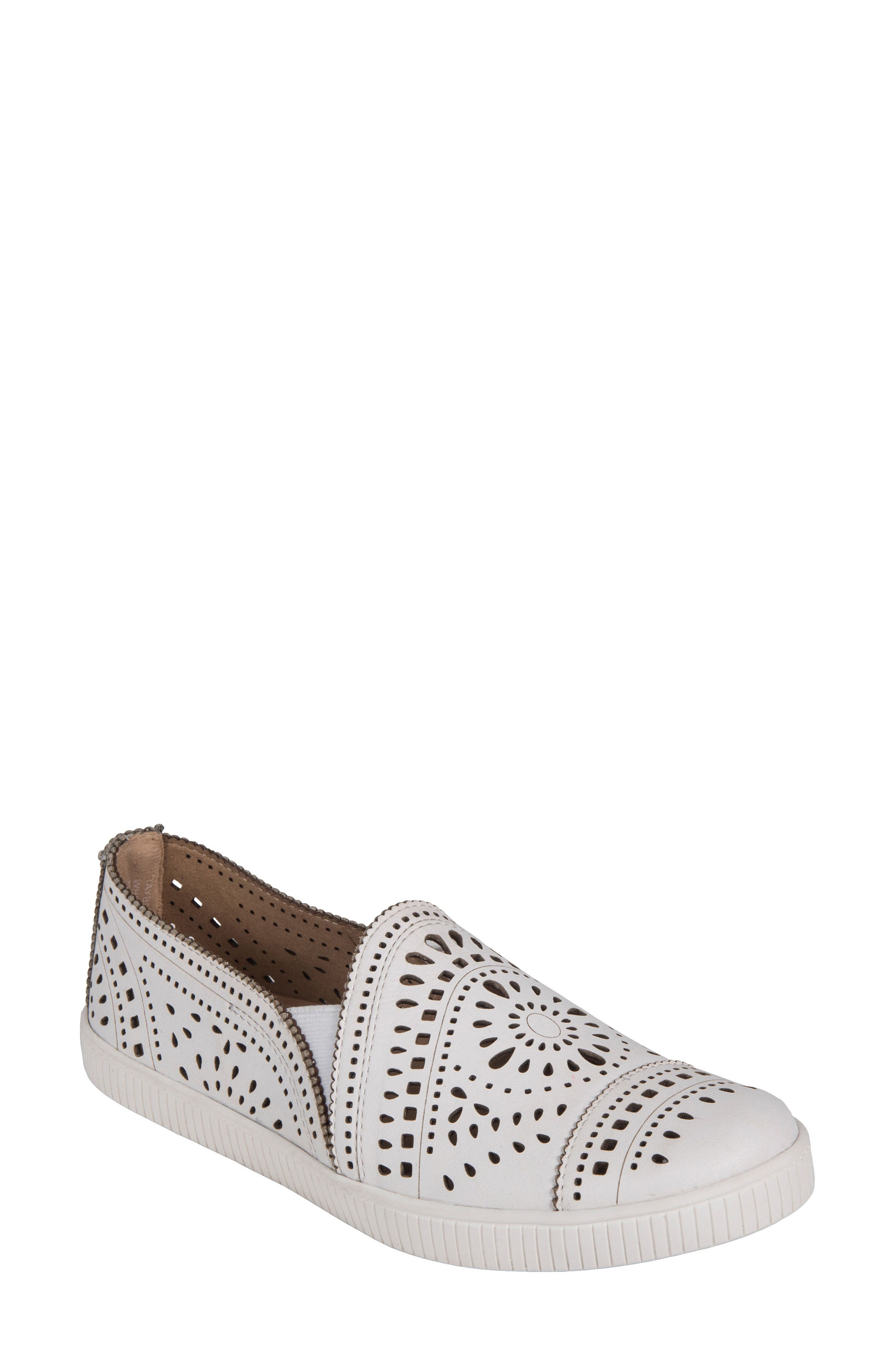 Tayberry Perforated Slip-On Sneaker,                             Main thumbnail 2, color,