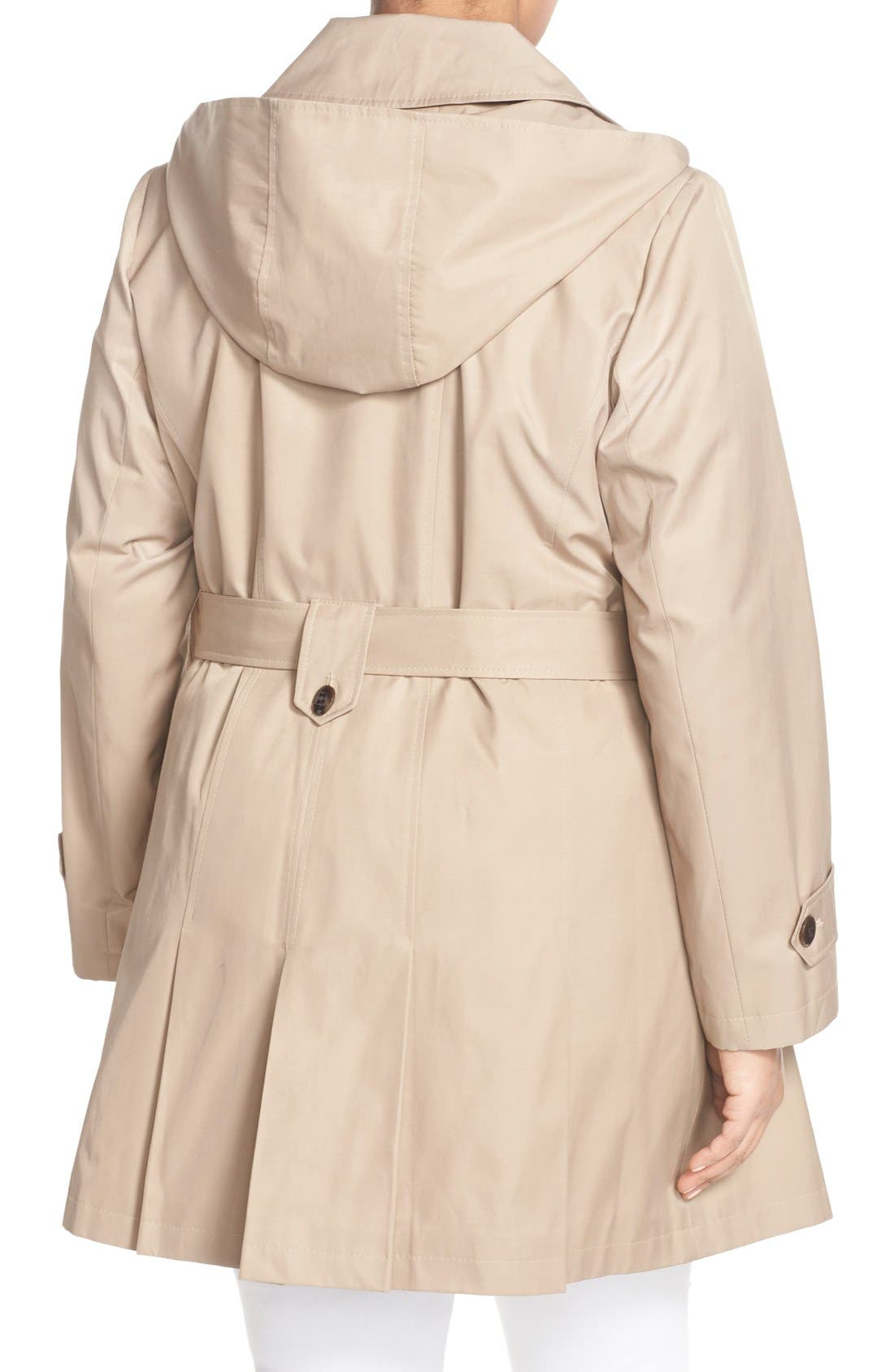 'Scarpa' Single Breasted Trench Coat,                             Alternate thumbnail 8, color,