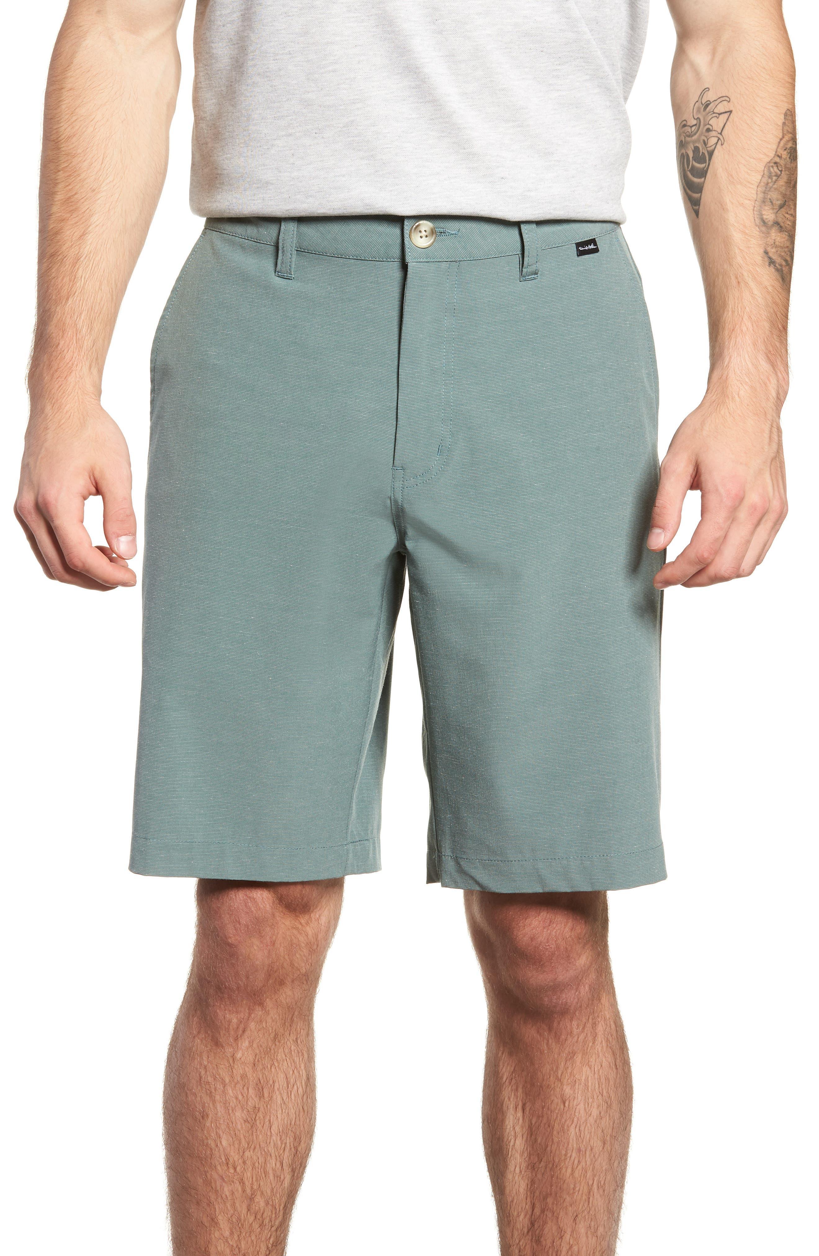 Revival Shorts,                         Main,                         color, BALSAM GREEN