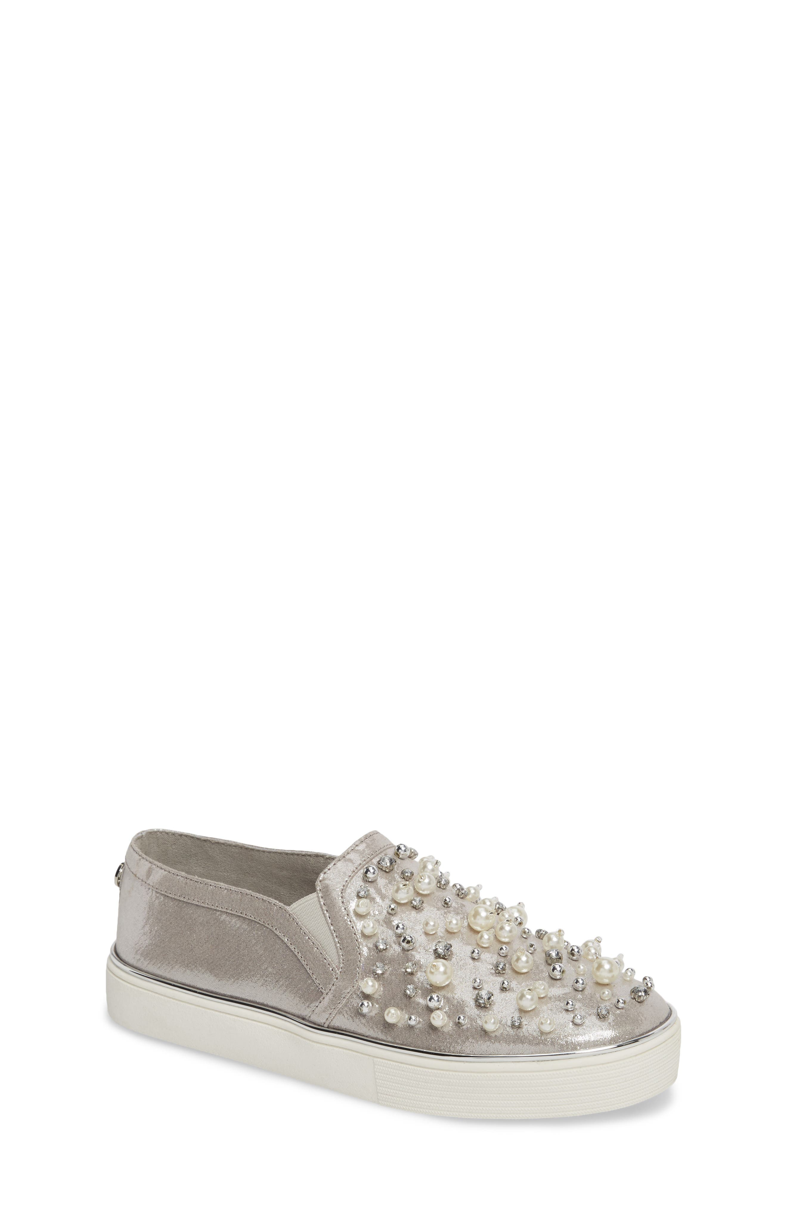 Vance Glitz Embellished Slip-On Sneaker,                         Main,                         color, 044