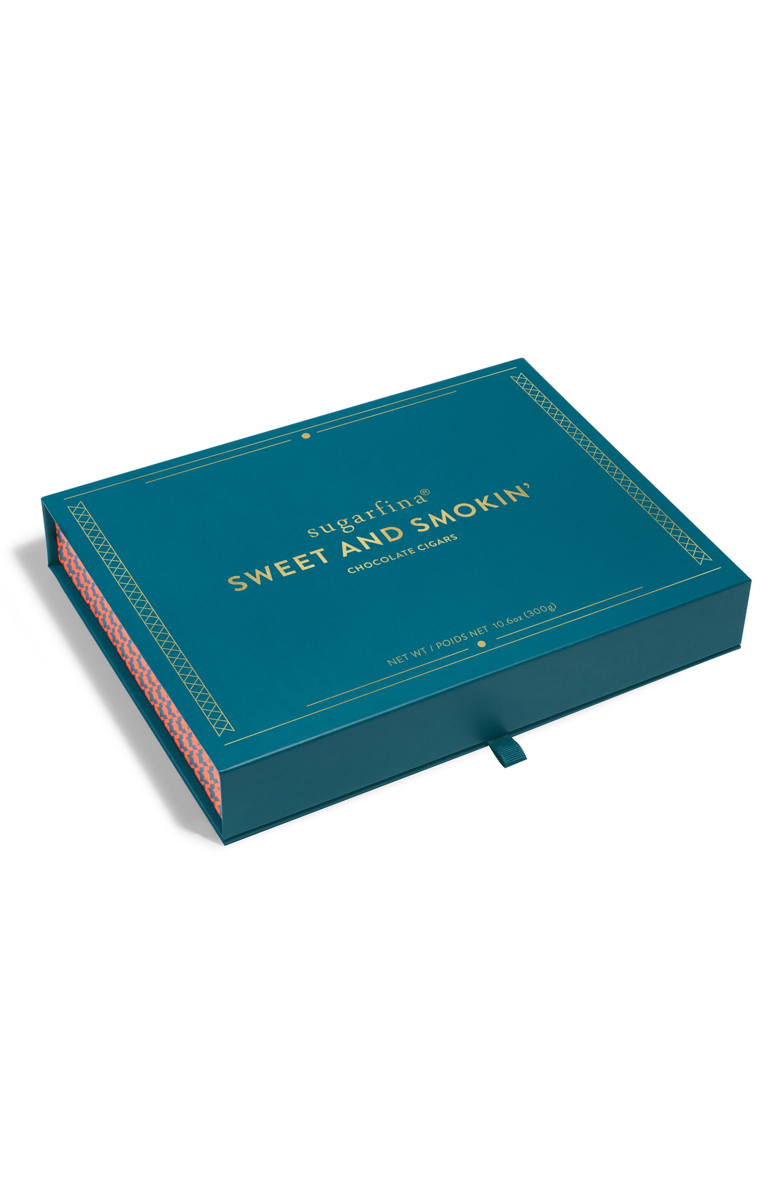 Sweet & Smokin' 3-Piece Chocolate Cigar Box,                             Alternate thumbnail 3, color,                             BLUE