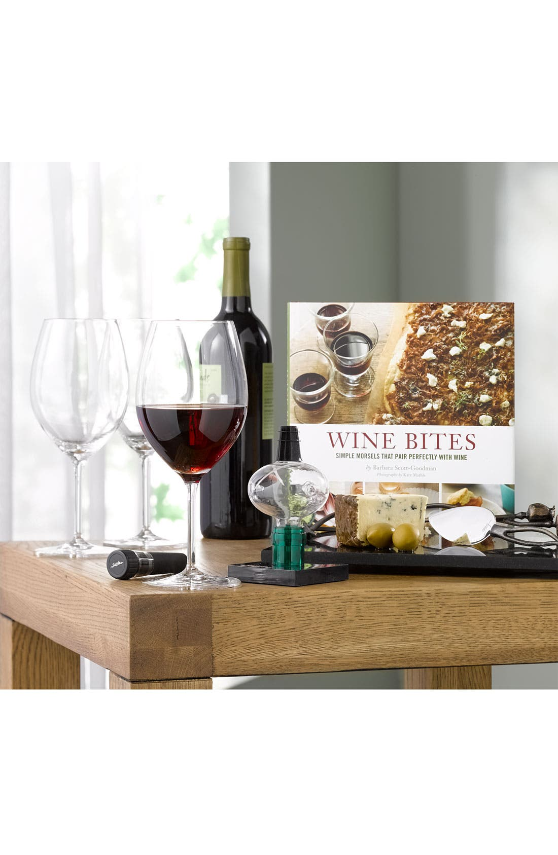'Wine Bites' Cookbook,                         Main,                         color, 000