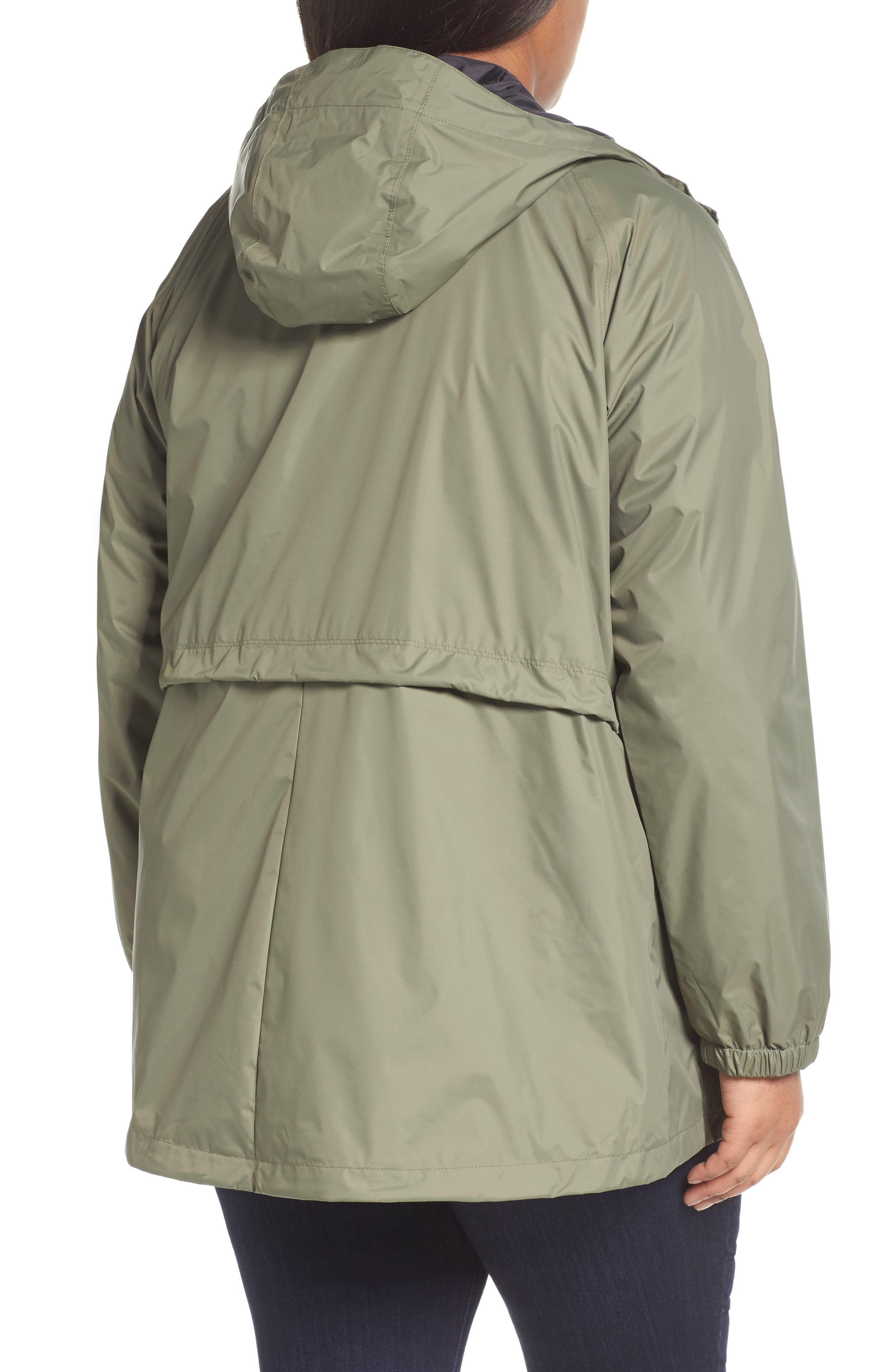 'Arcadia' Hooded Waterproof Casual Jacket,                             Alternate thumbnail 15, color,