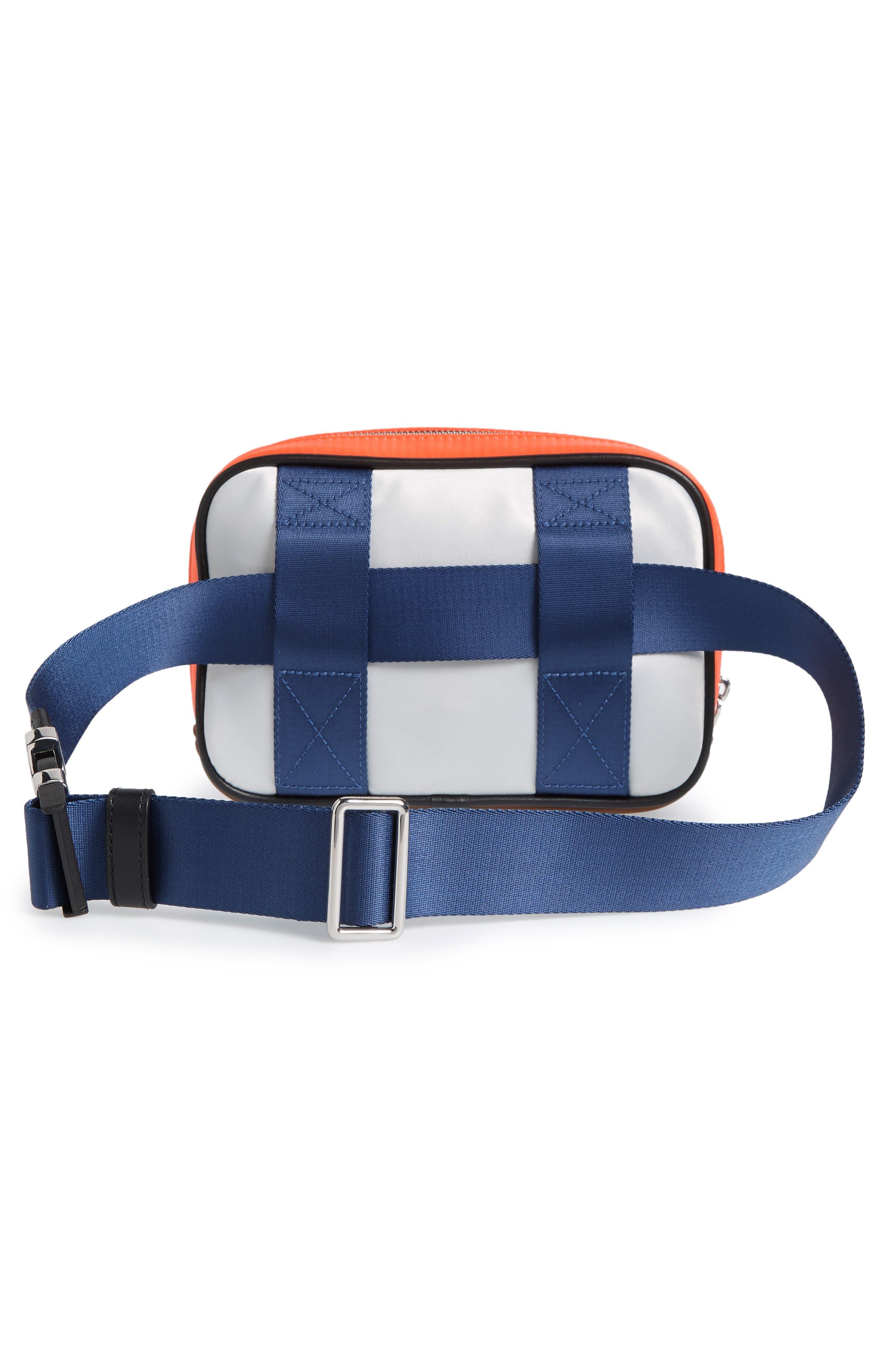 Sport Colorblock Belt Bag,                             Alternate thumbnail 11, color,