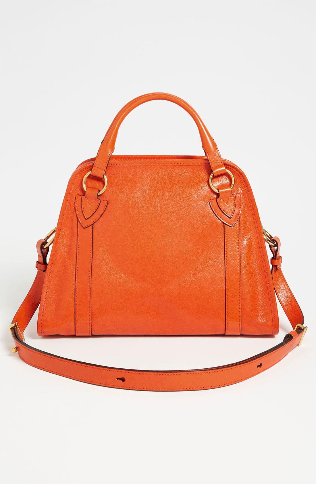 'Classic Wellington' Leather Satchel,                             Alternate thumbnail 25, color,