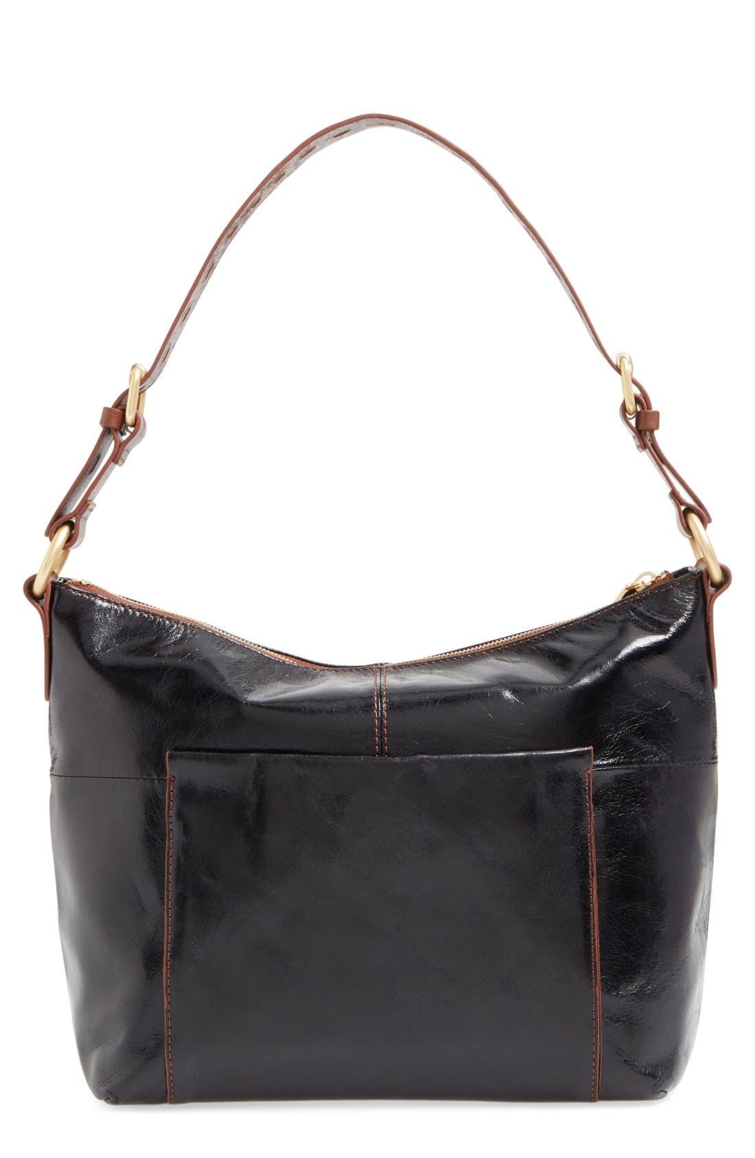 Charlie Shoulder Bag,                             Alternate thumbnail 6, color,                             BLACK