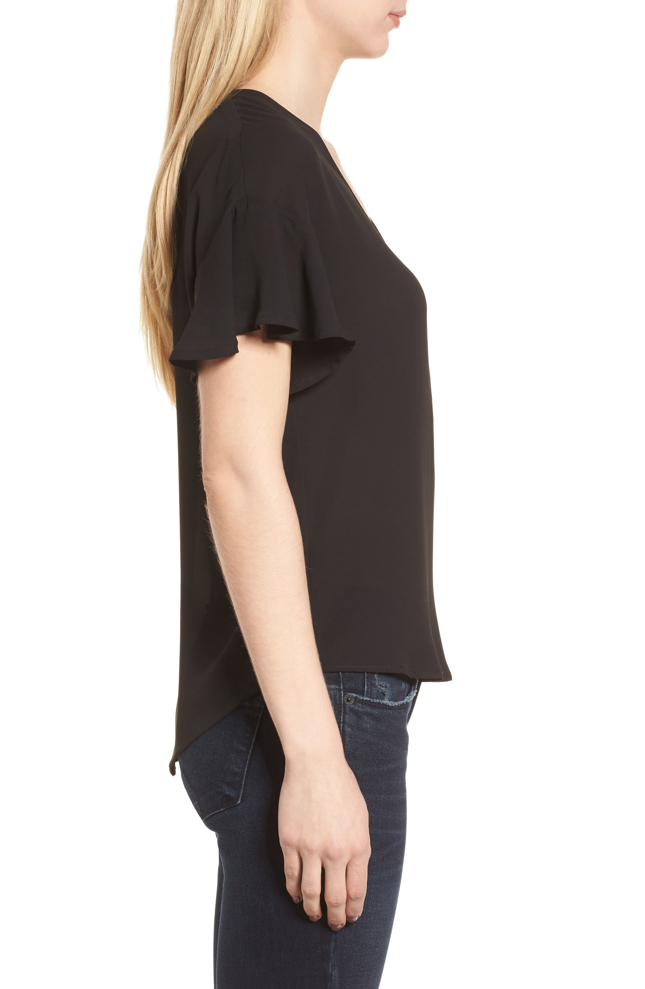 Crepe Tee,                             Alternate thumbnail 17, color,