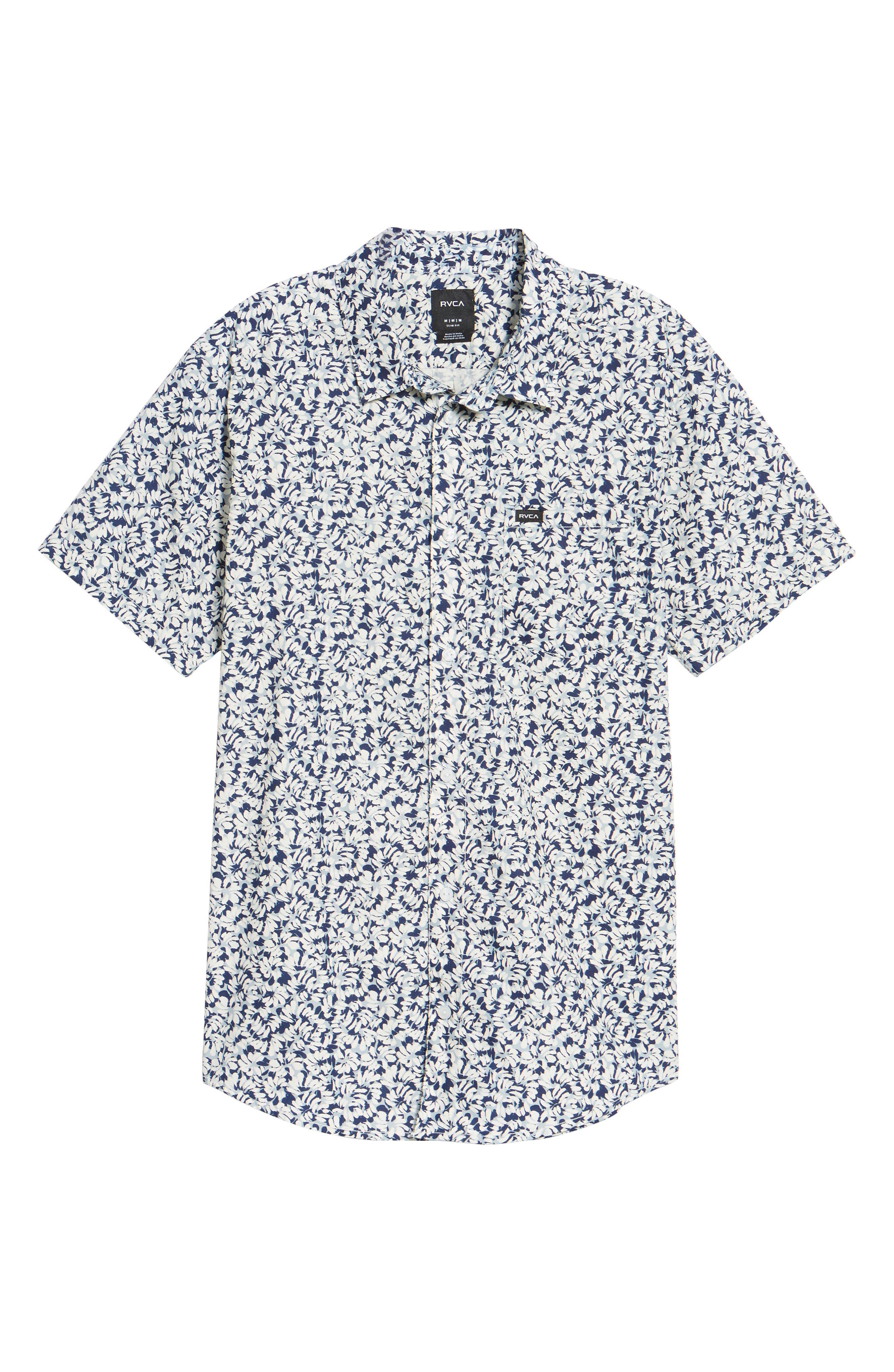 Brong Short Sleeve Shirt,                             Alternate thumbnail 6, color,                             020