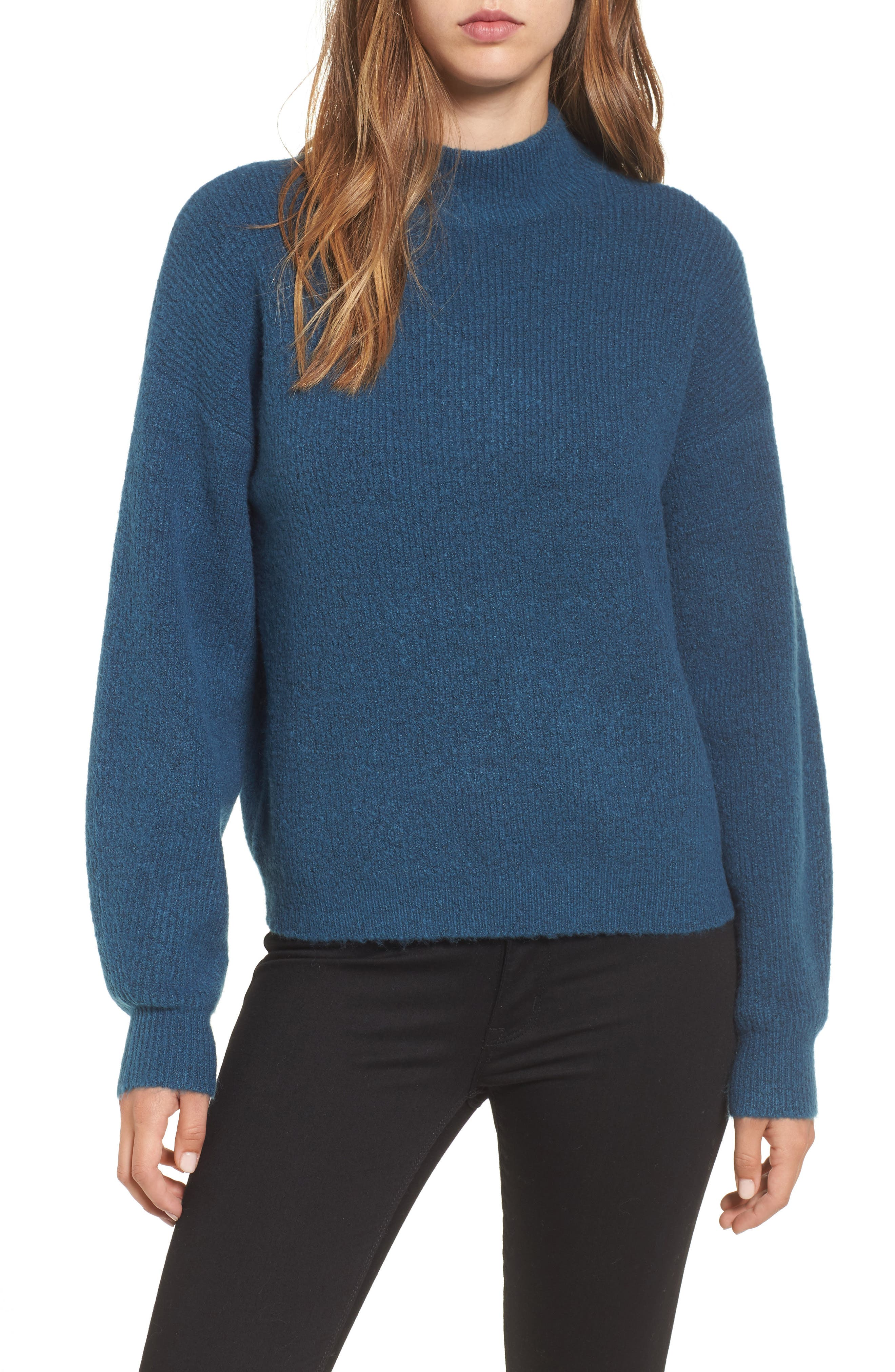 Cozy Ribbed Pullover,                             Main thumbnail 2, color,