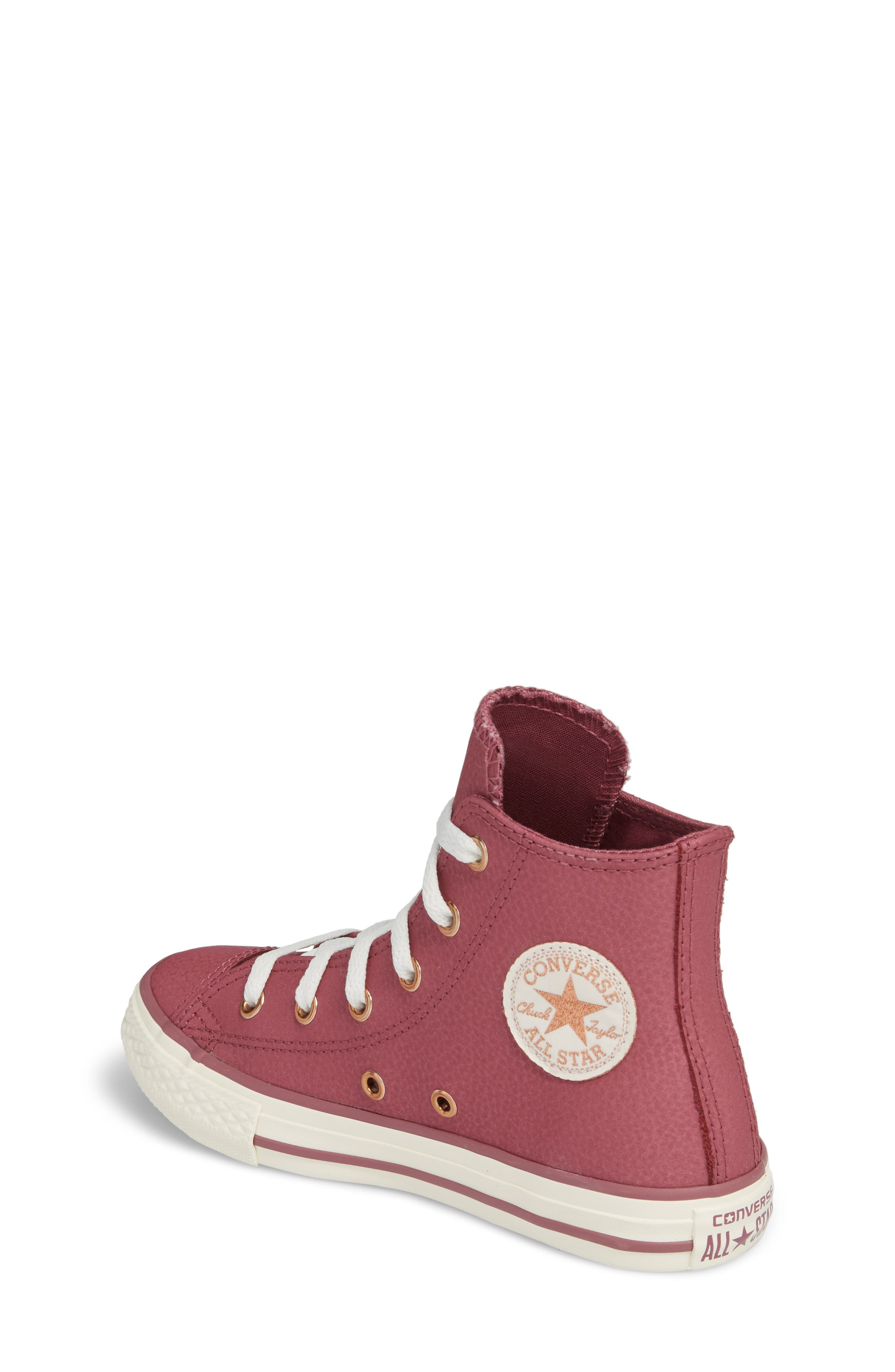 Chuck Taylor<sup>®</sup> All Star<sup>®</sup> High Top Sneaker,                             Alternate thumbnail 2, color,                             600