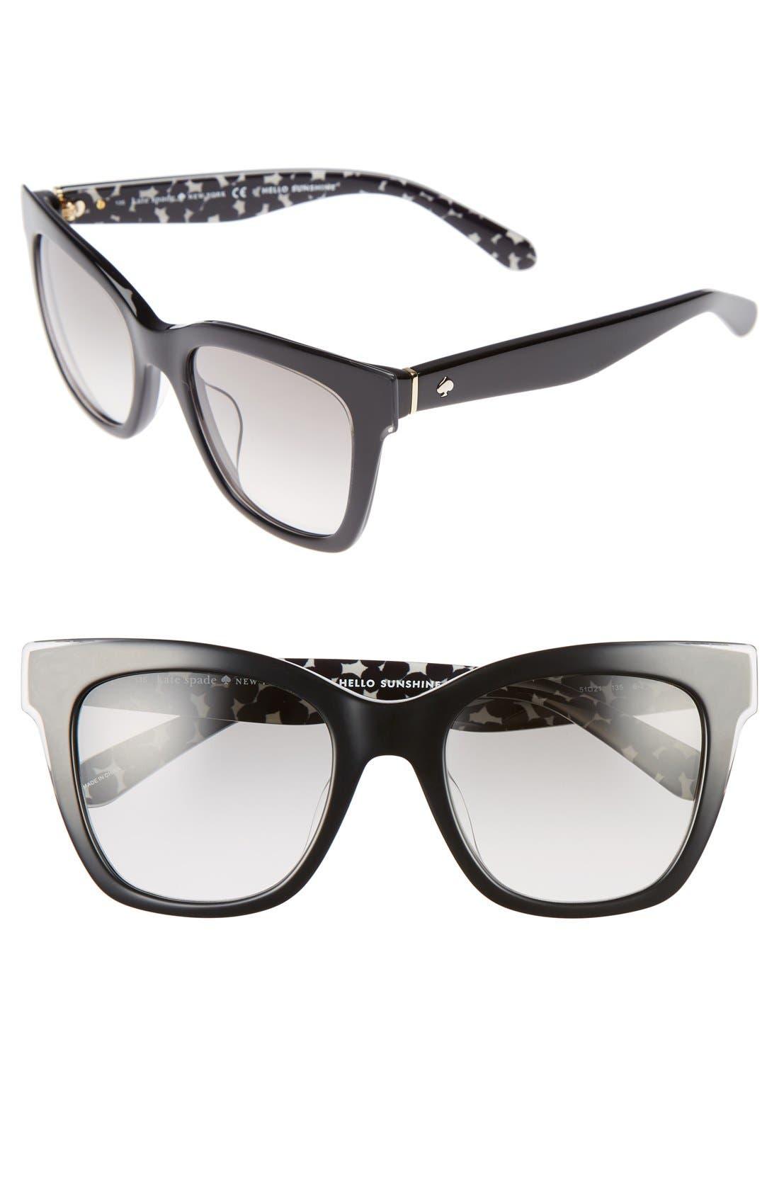 emmylou 51mm sunglasses,                             Main thumbnail 2, color,
