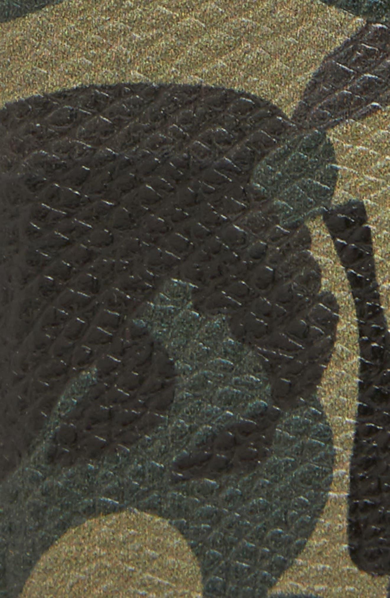 ALEXANDER MCQUEEN,                             Camo Leather Belt,                             Alternate thumbnail 2, color,                             009