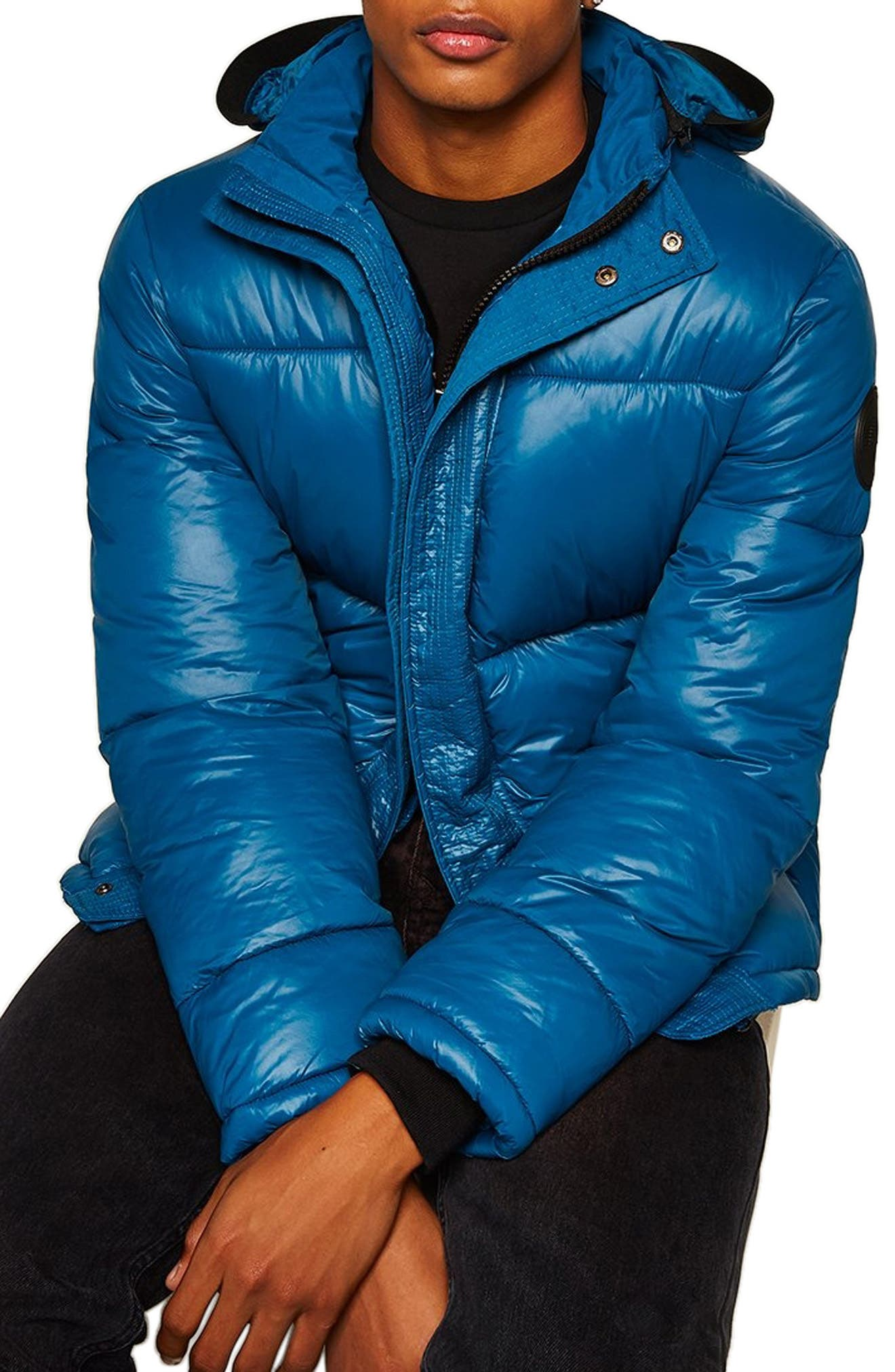 Puffer Jacket,                         Main,                         color, 401