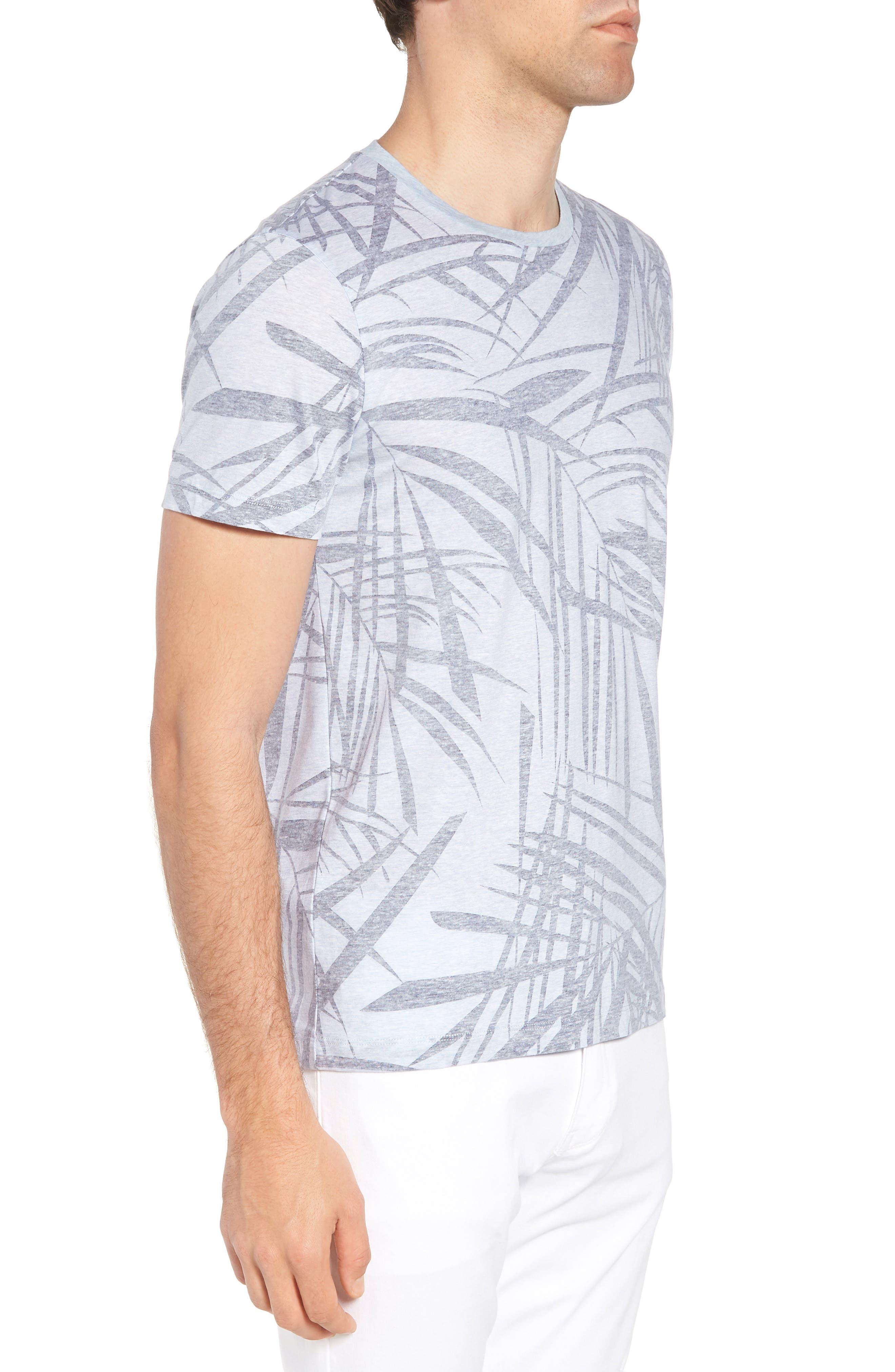 Tessler Crewneck T-Shirt,                             Alternate thumbnail 3, color,                             BLUE