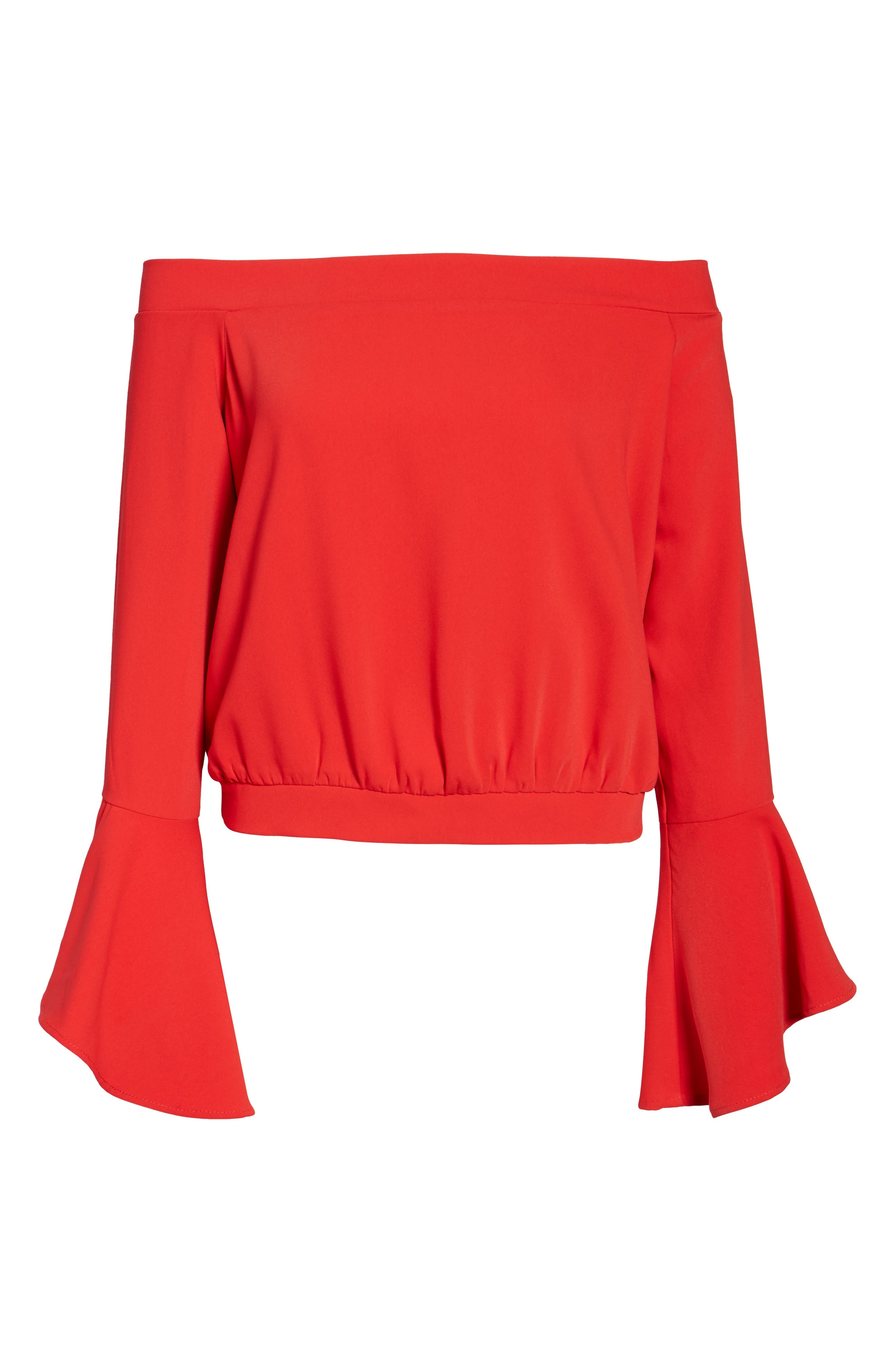 Elson Off the Shoulder Top,                             Alternate thumbnail 6, color,                             620