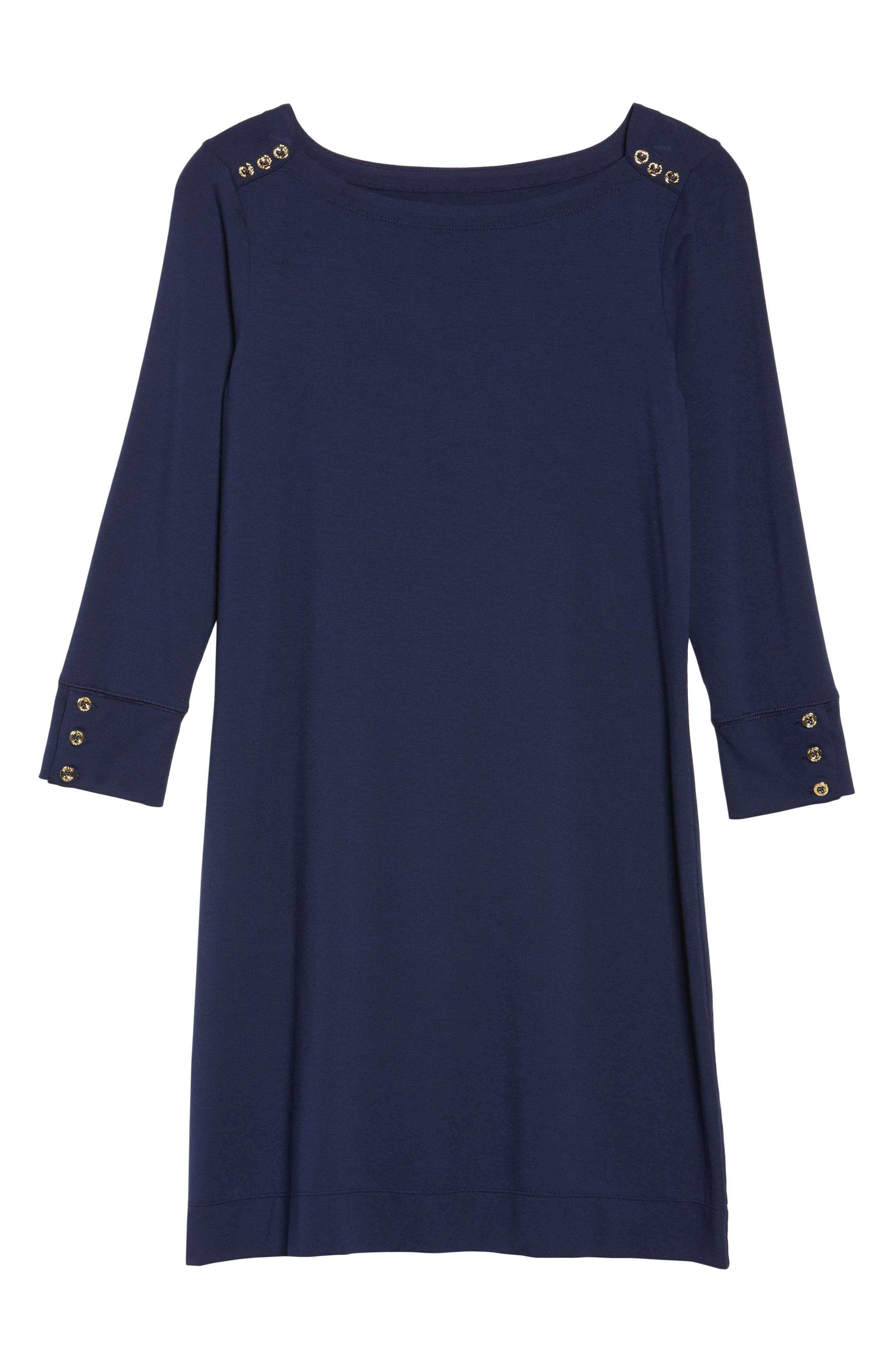 LILLY PULITZER<SUP>®</SUP>,                             Sophie UPF 50+ Dress,                             Alternate thumbnail 6, color,                             TRUE NAVY