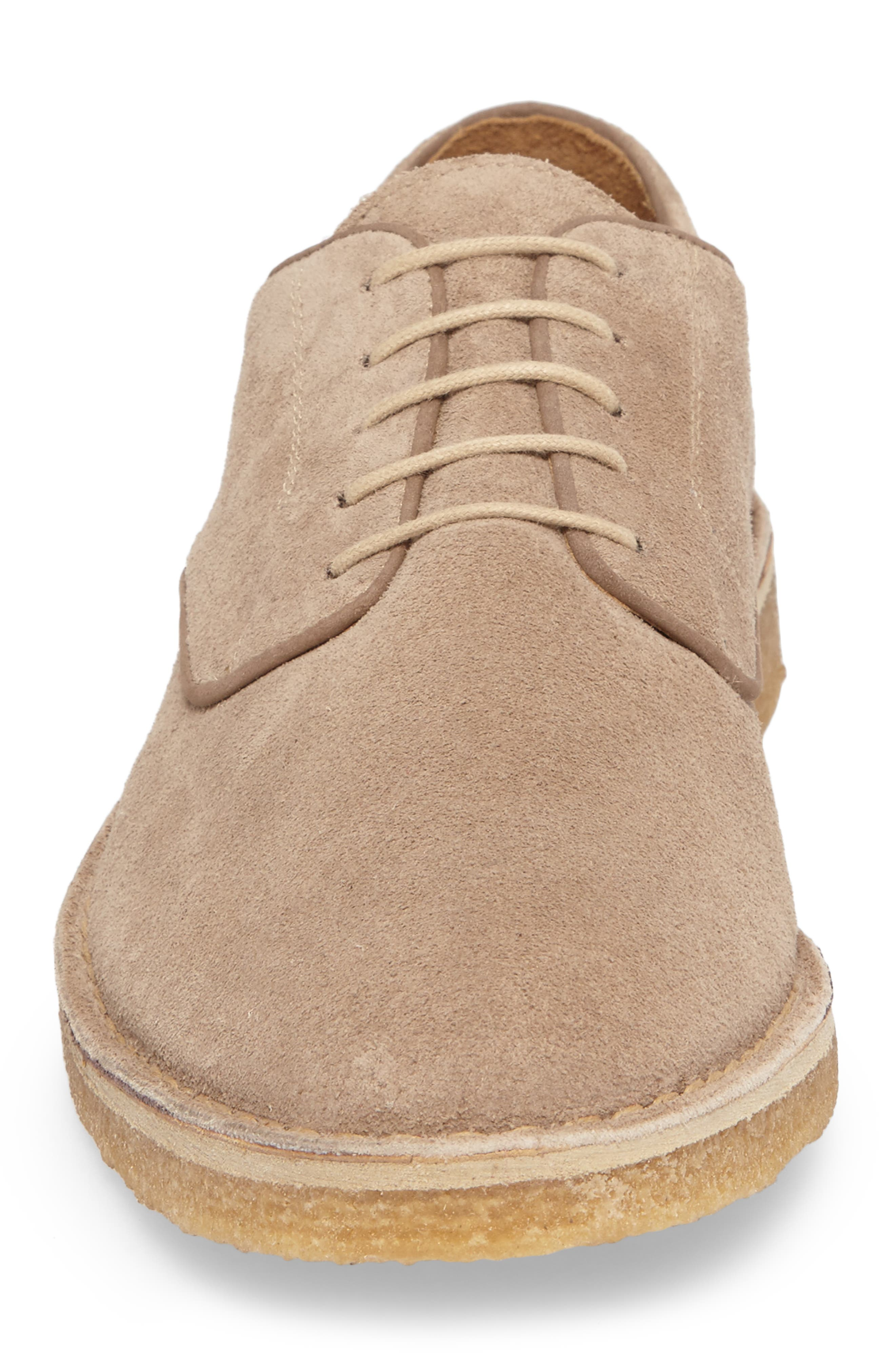 Crescent Buck Shoe,                             Alternate thumbnail 4, color,                             TAN SUEDE