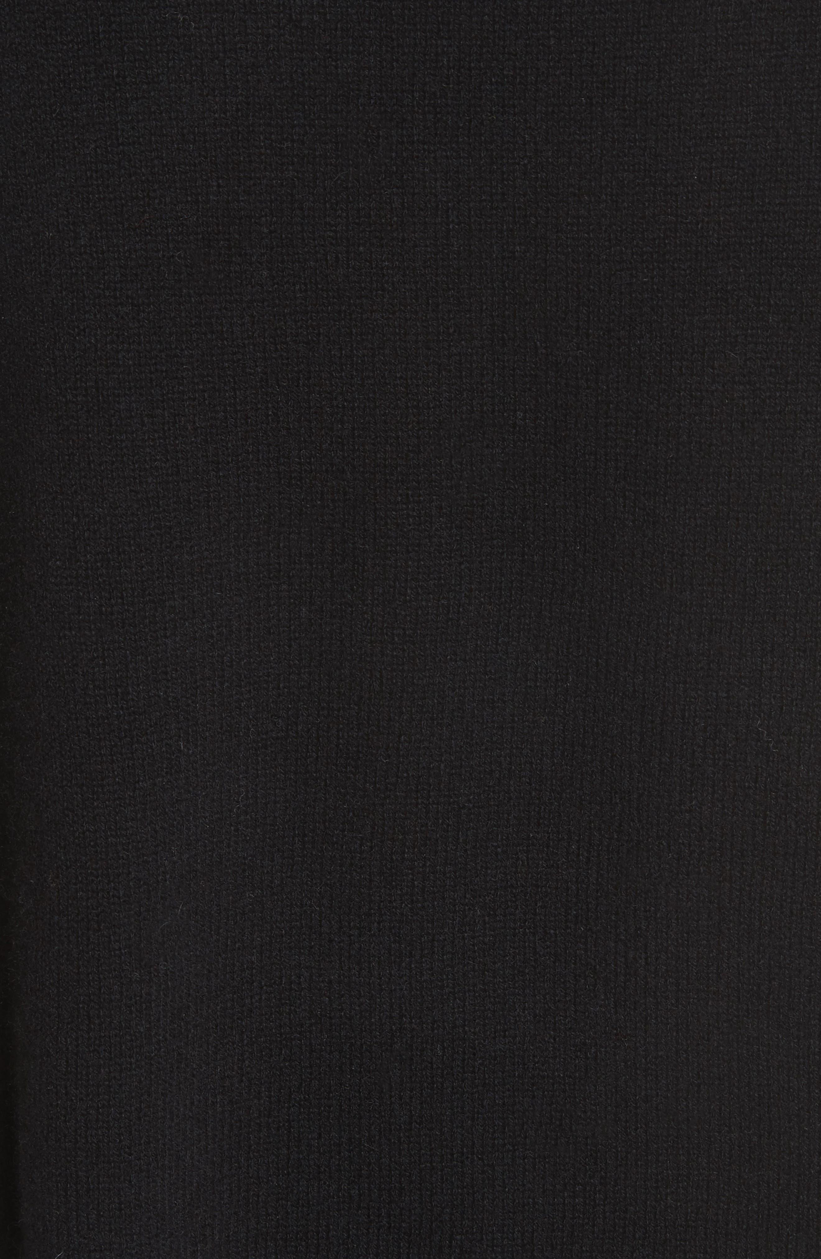 THEORY,                             Karenia L Cashmere Sweater,                             Alternate thumbnail 5, color,                             001