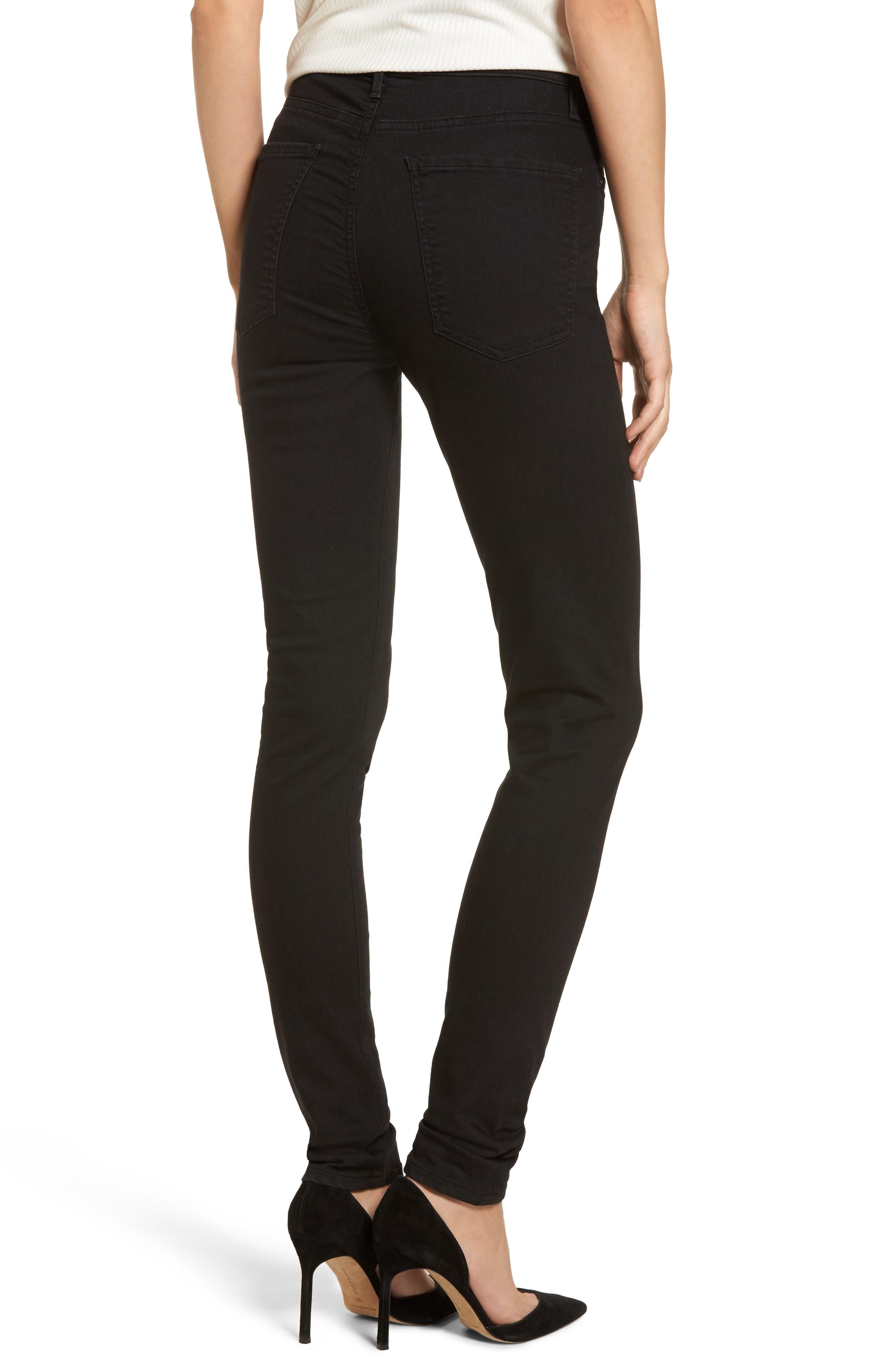 Carlie High Waist Skinny Jeans,                             Alternate thumbnail 2, color,                             011