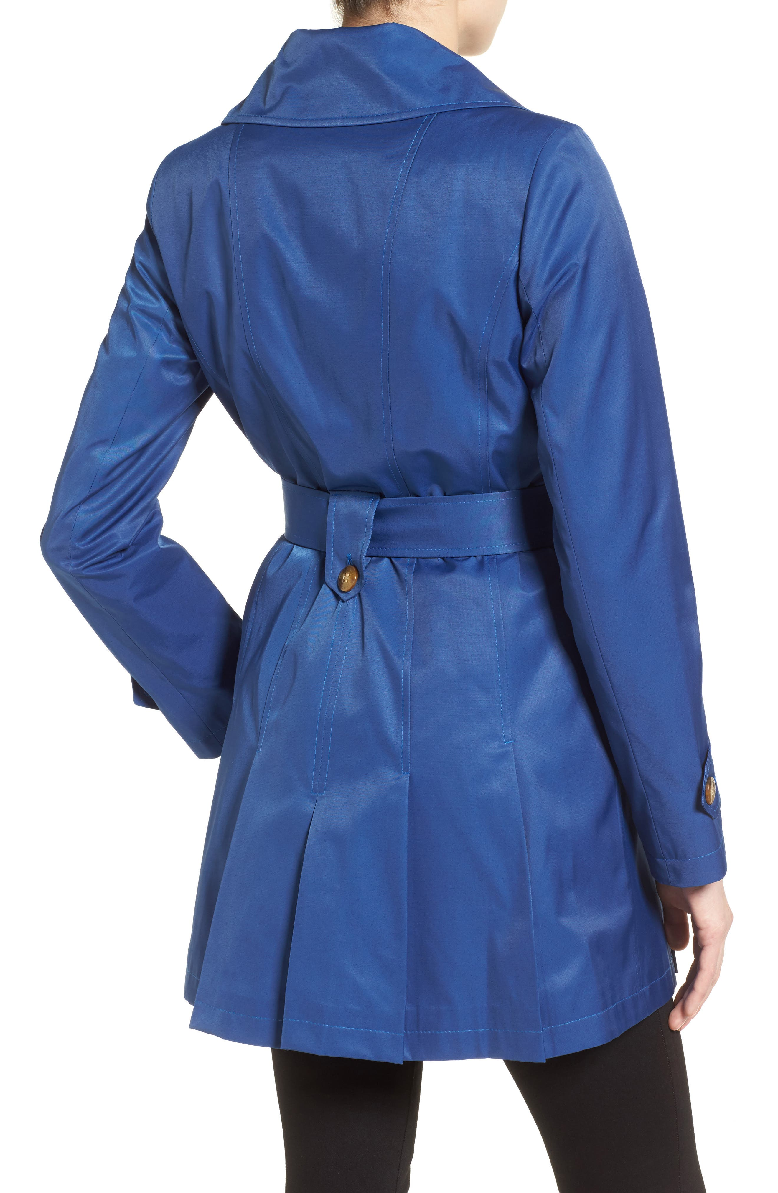 'Scarpa' Hooded Single Breasted Trench Coat,                             Alternate thumbnail 30, color,