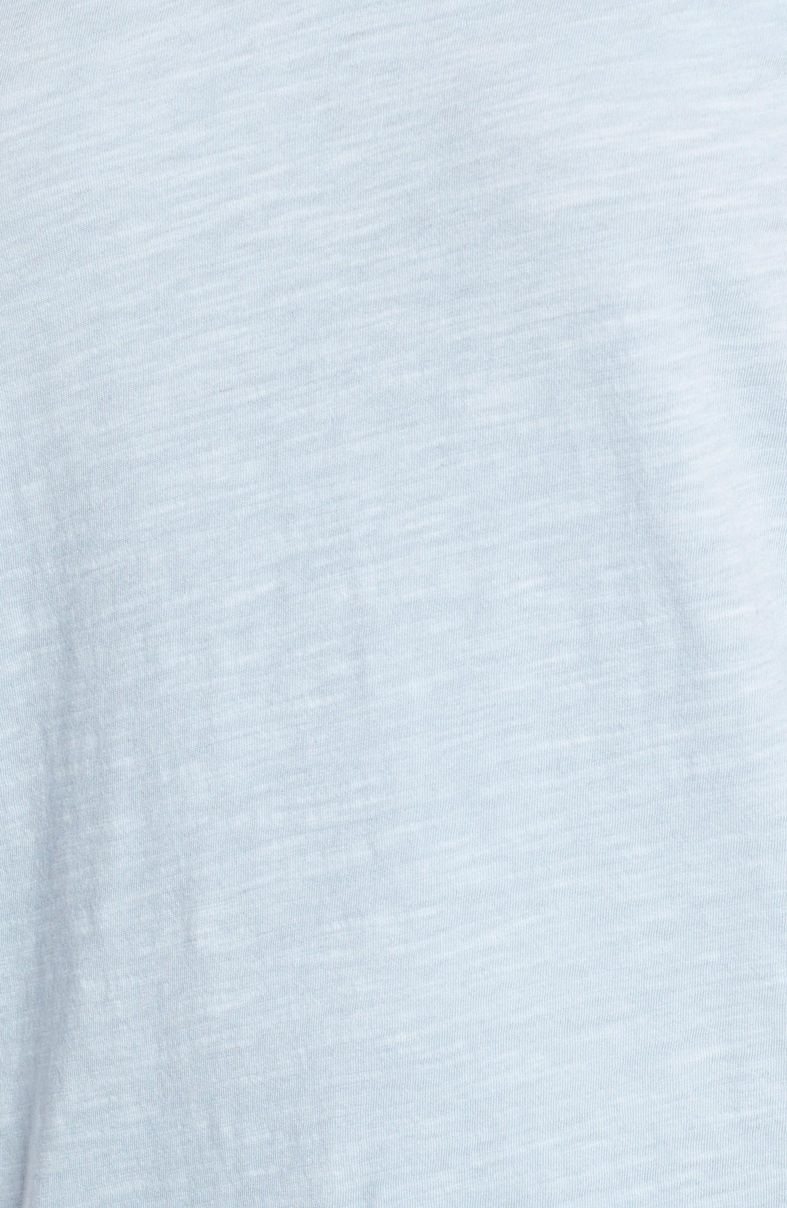 Organic Cotton V-Neck Tee,                             Alternate thumbnail 78, color,