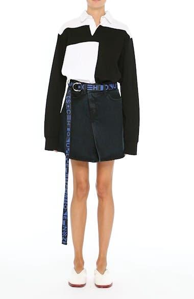PSWL Folded Denim Skirt, video thumbnail