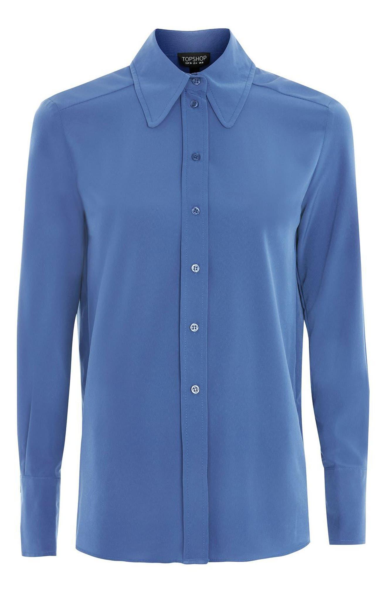 '70s Collar Shirt,                             Alternate thumbnail 4, color,                             400