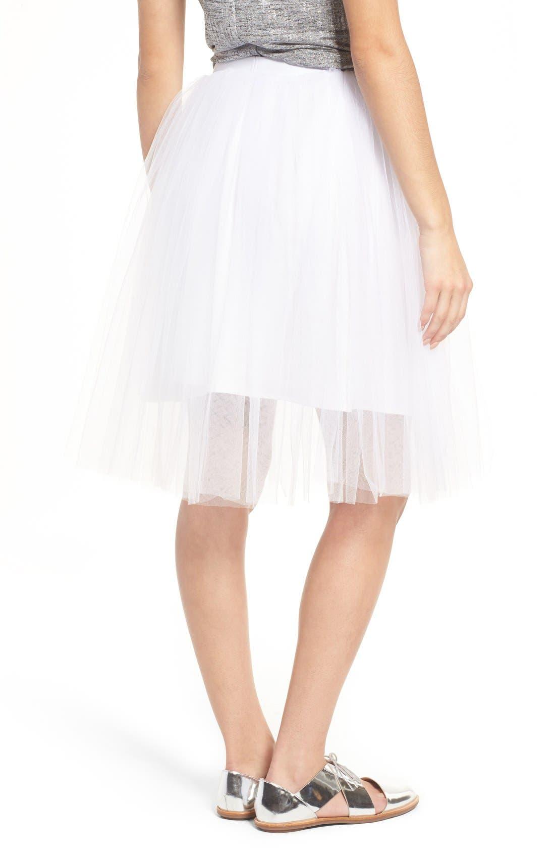 Tulle Skirt,                             Alternate thumbnail 4, color,                             104