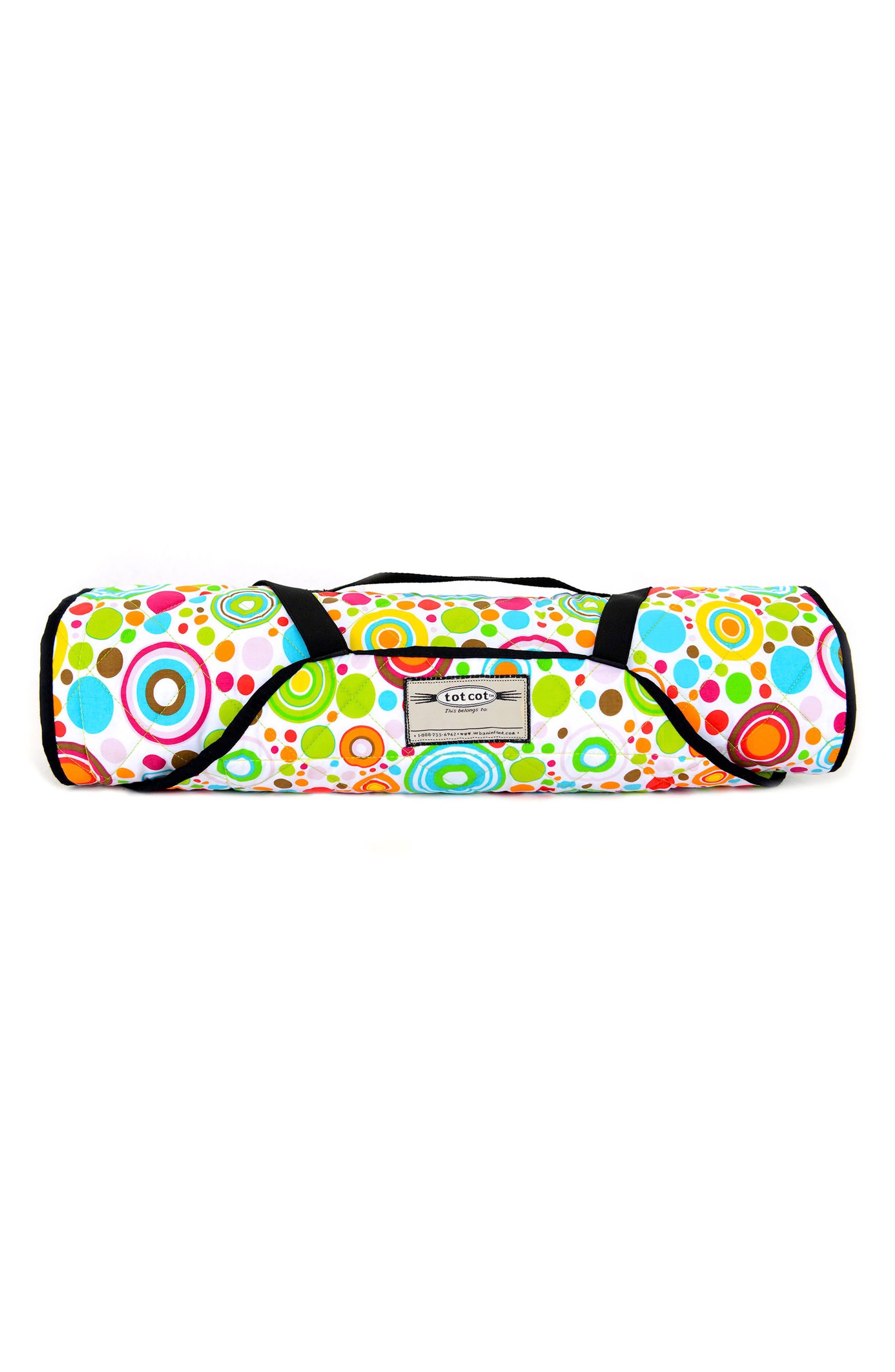 Tot Cot<sup>®</sup> Portable Nap Cot Bedding,                             Alternate thumbnail 3, color,                             100