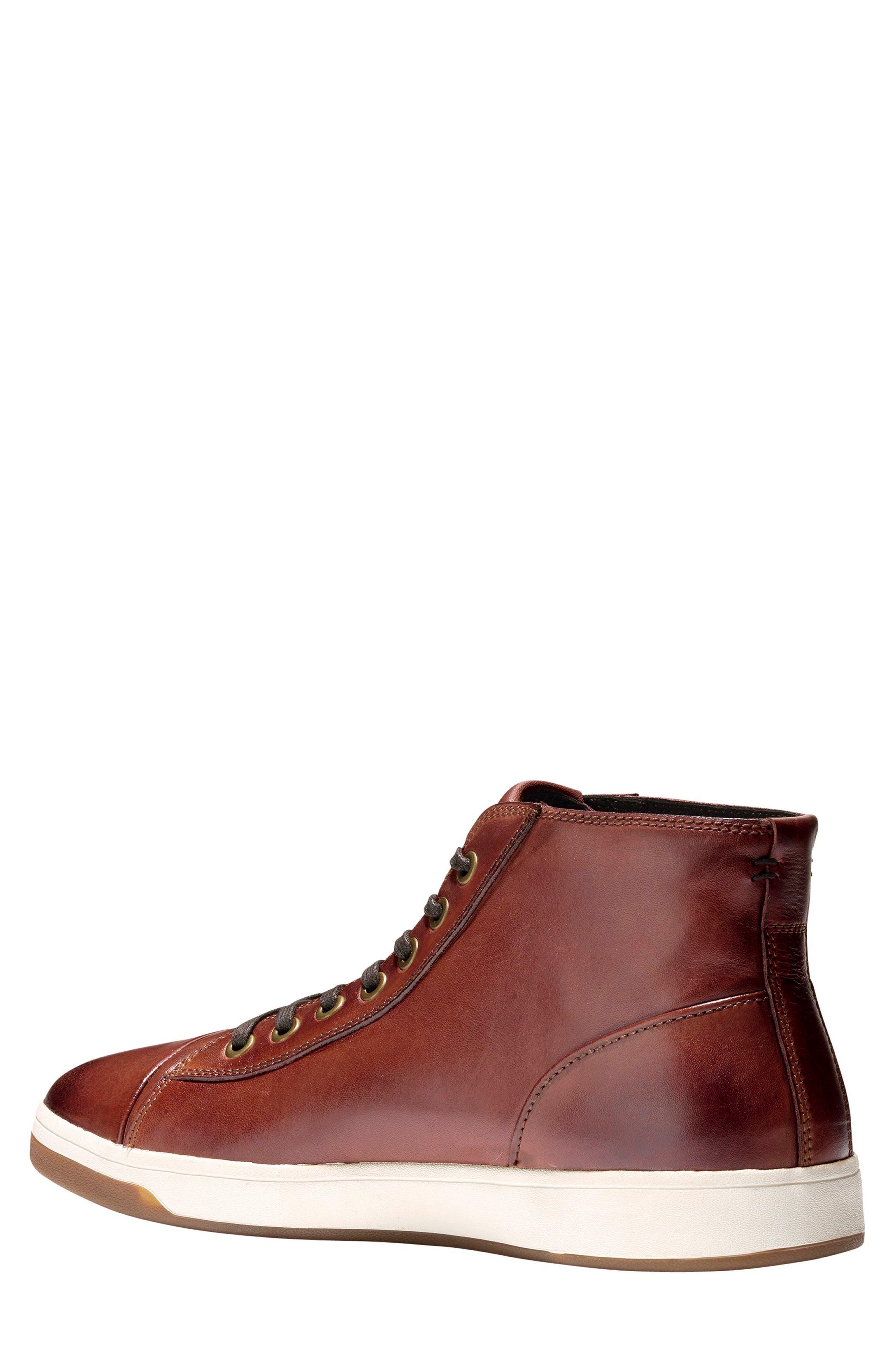 GrandPro High Top Sneaker,                             Alternate thumbnail 3, color,